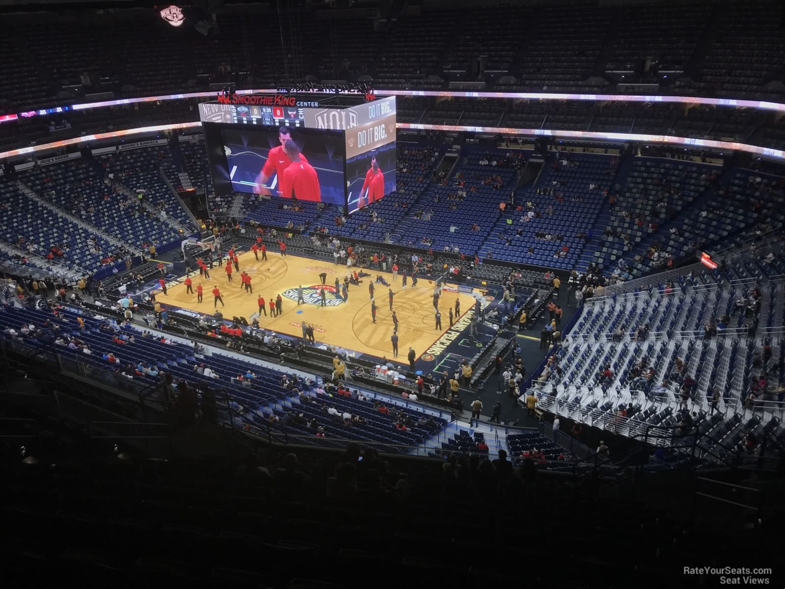 Smoothie King Center Section 313 New Orleans Pelicans