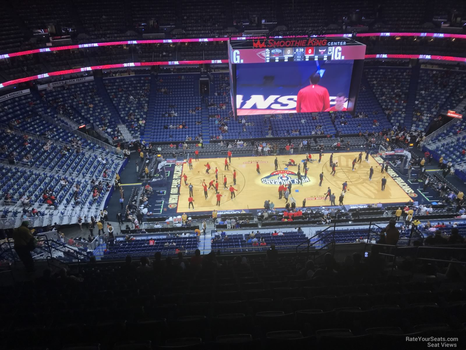 New Orleans Pelicans Virtual Seating Chart Brokeasshome Com