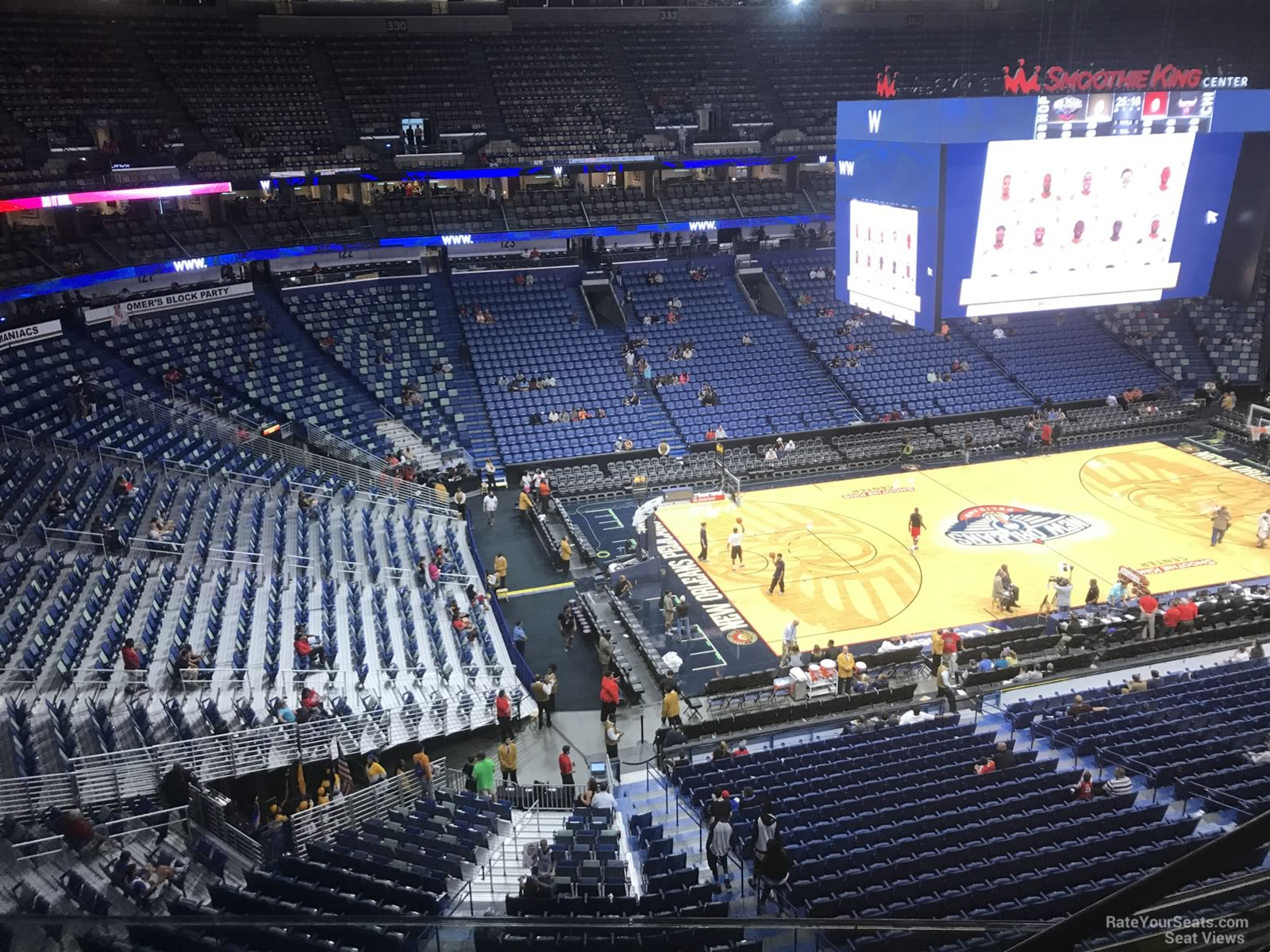 Smoothie King Center Section 319 - New Orleans Pelicans ...