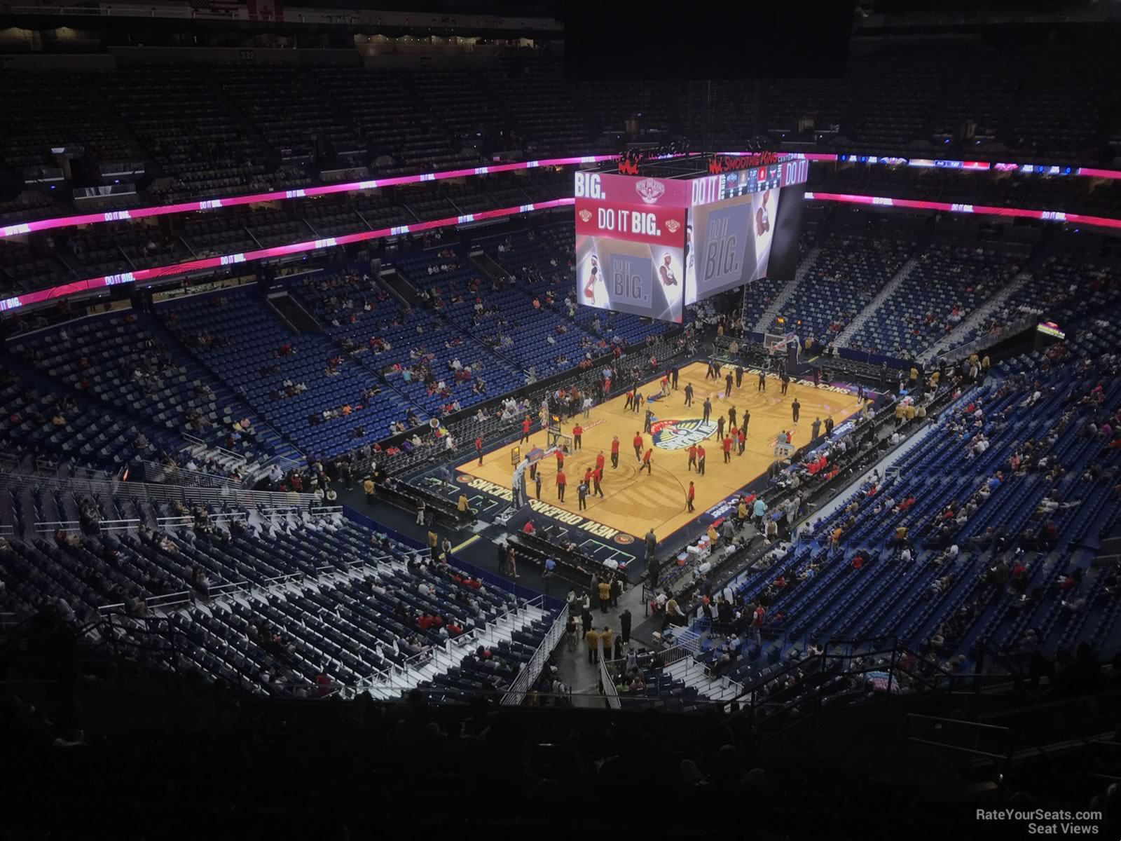 Smoothie King Center Section 321 New Orleans Pelicans