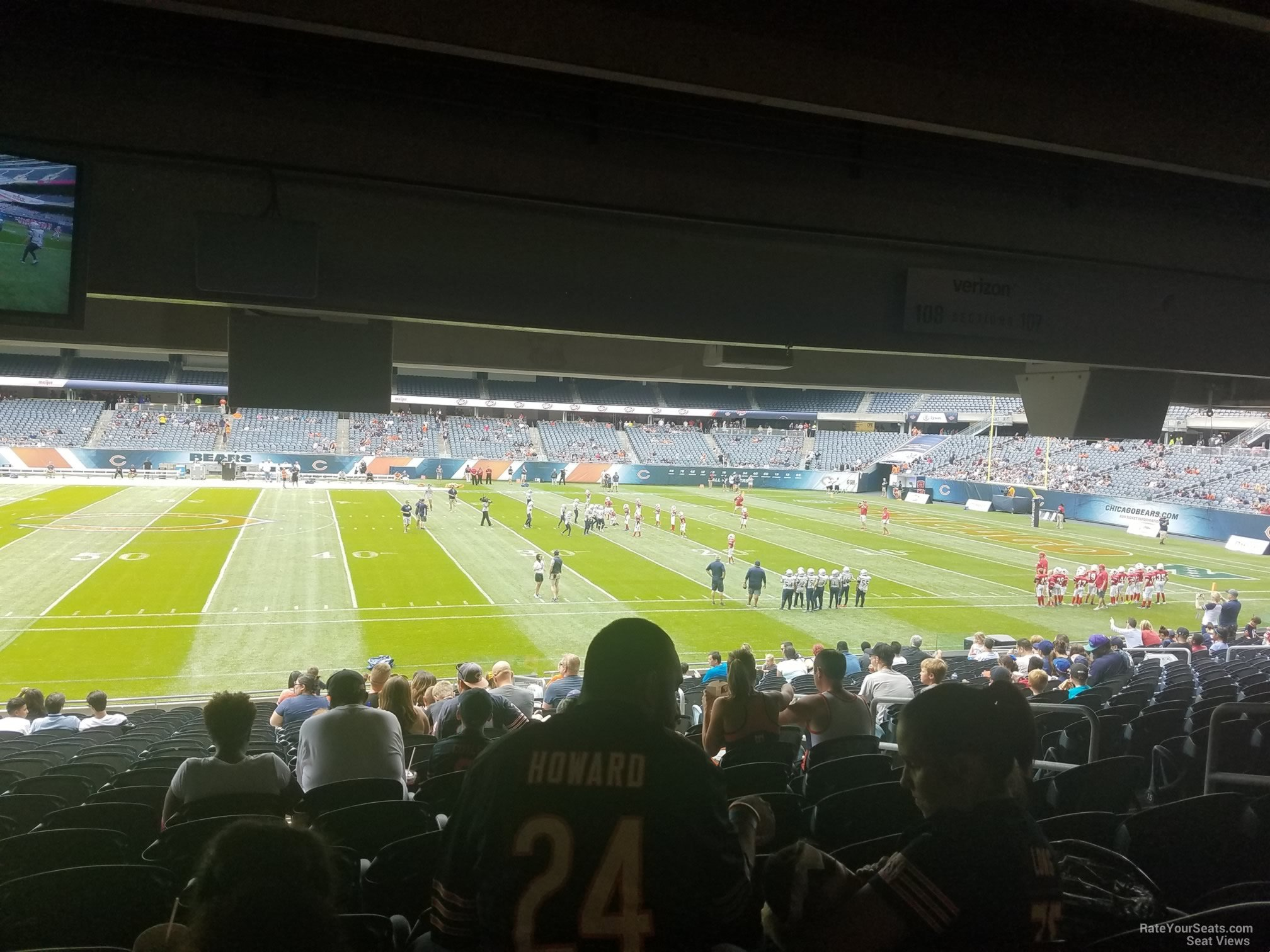 Soldier Field Section 108 Chicago Bears Rateyourseats Com