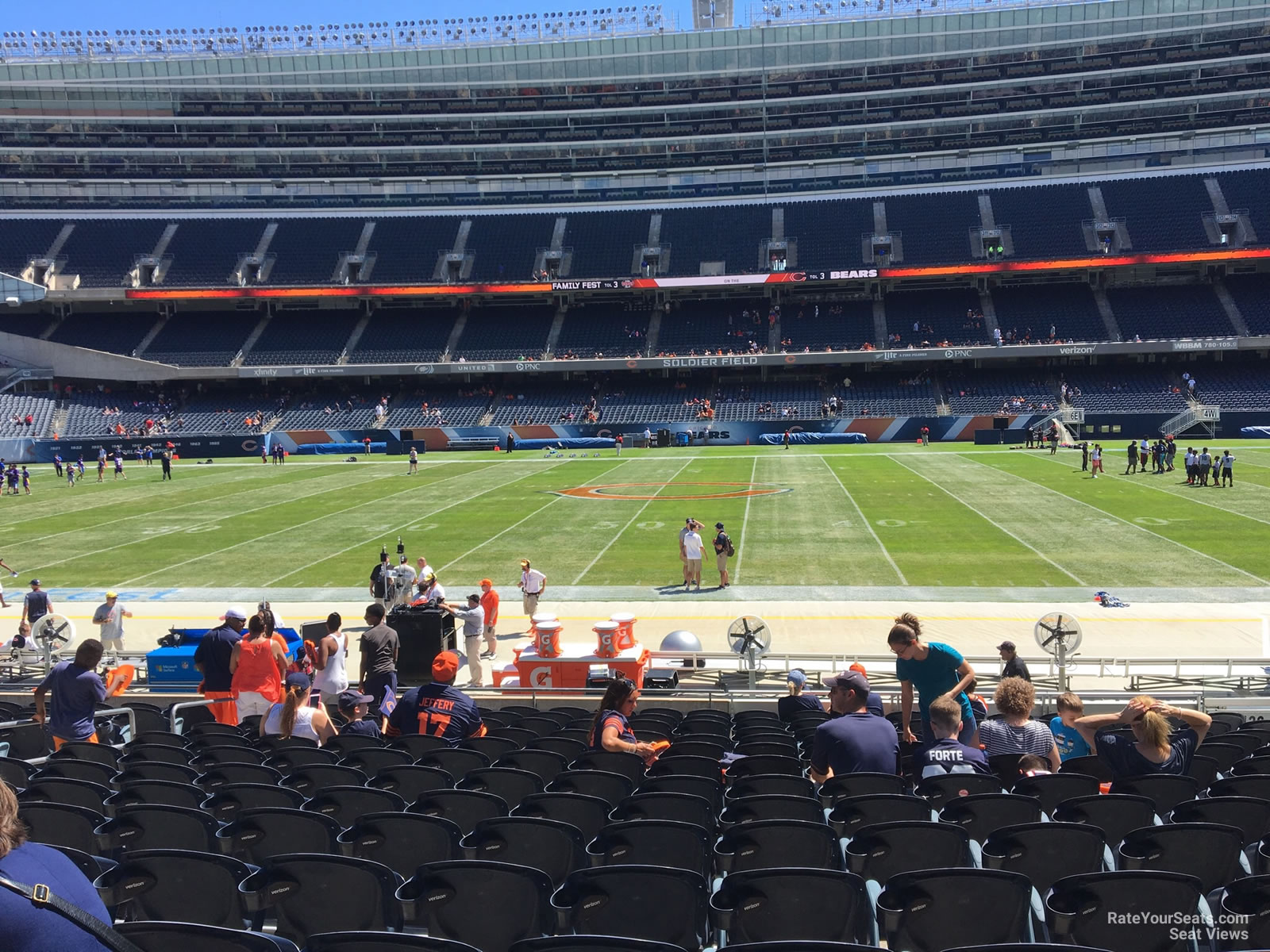 Soldier Field Section 136 Chicago Bears Rateyourseatscom