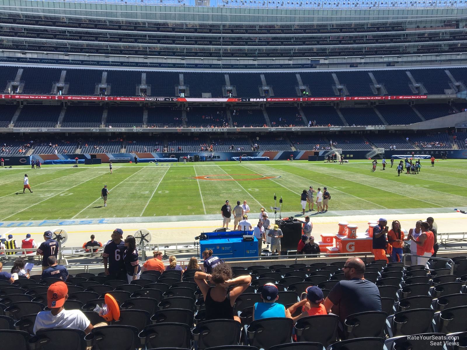 Seat View for Soldier Field Section 138, Row 14