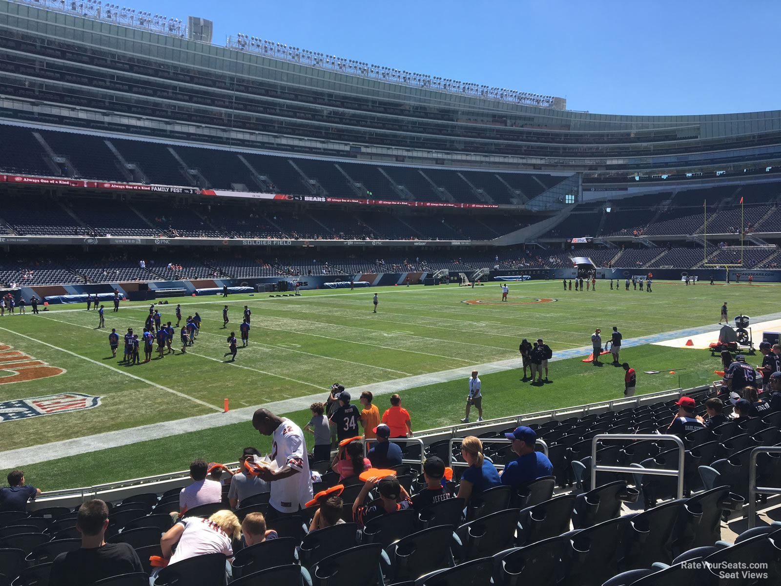 Soldier Field Section 144 Chicago Bears Rateyourseats Com
