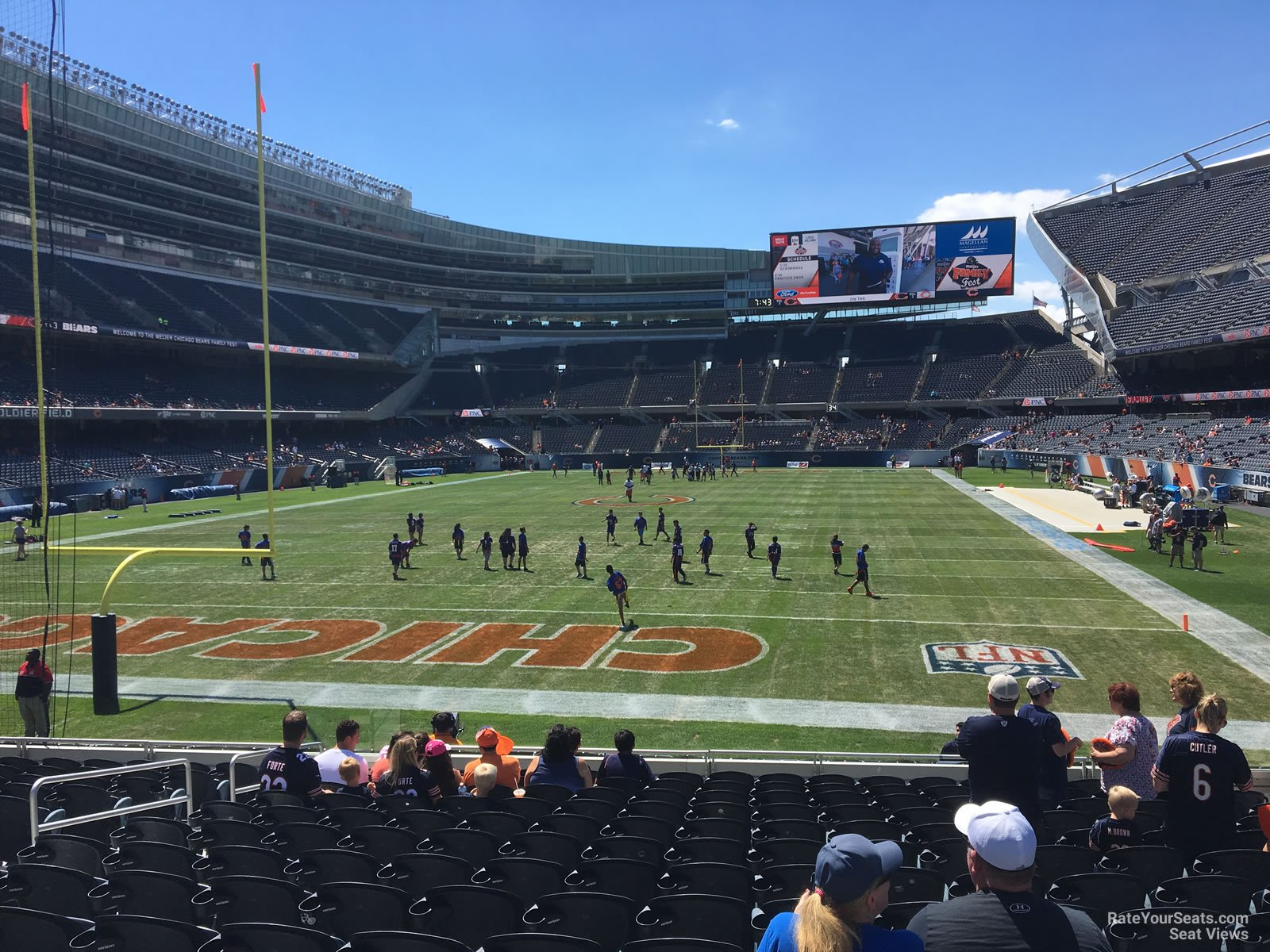 Soldier Field Section 150 - Chicago Bears - RateYourSeats.com