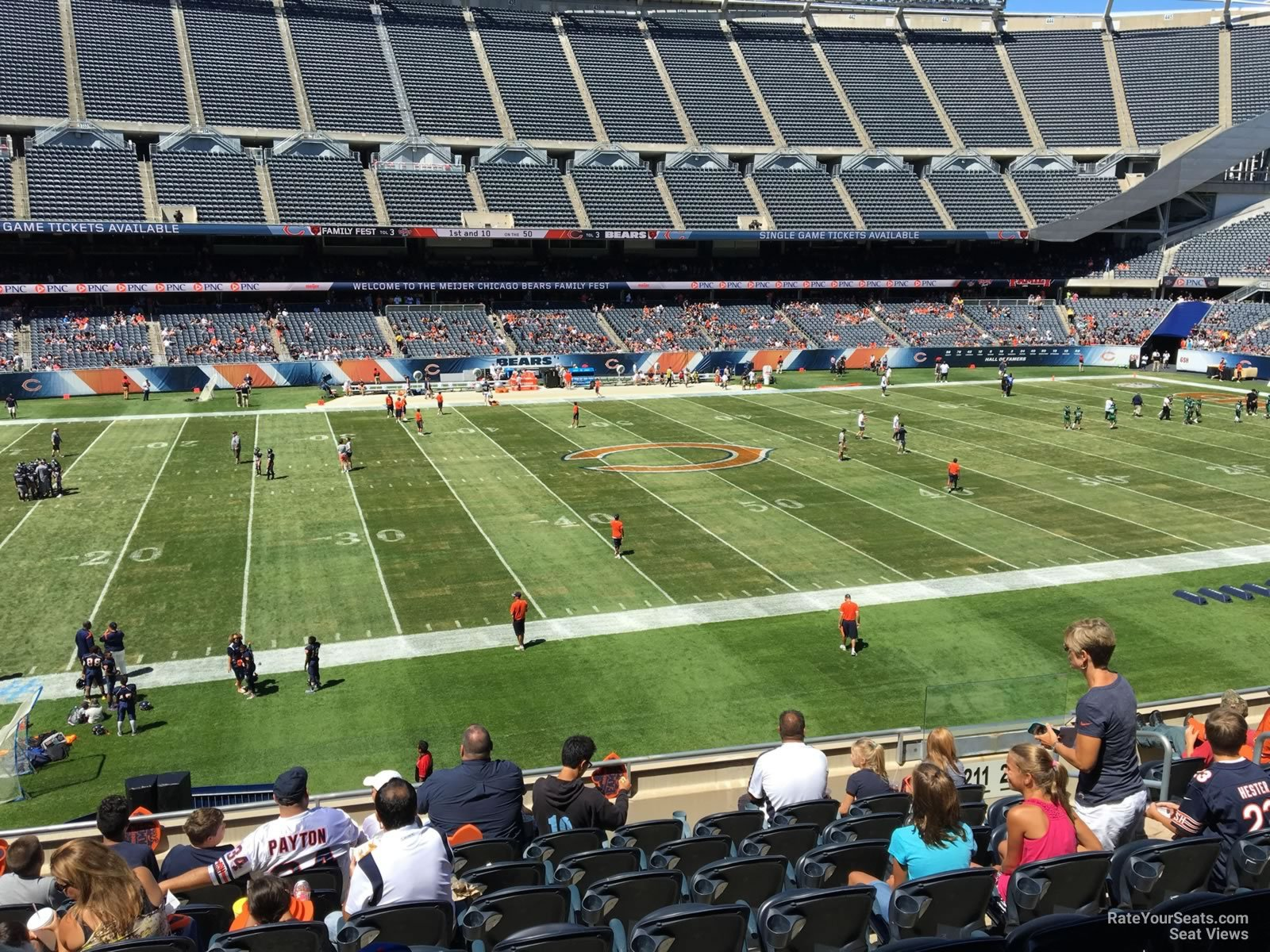 Seat View for Soldier Field Section 211, Row 9