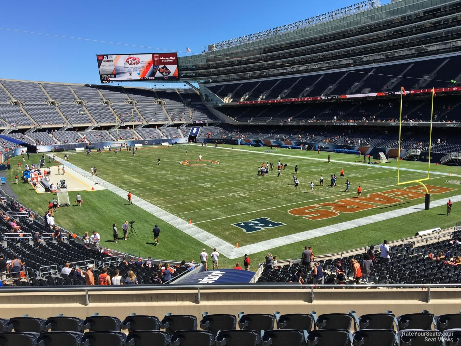 Seat View for Soldier Field Section 226, ...