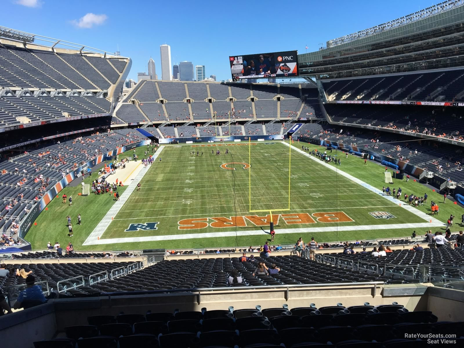 Seat View for Soldier Field Section 323, Row 8