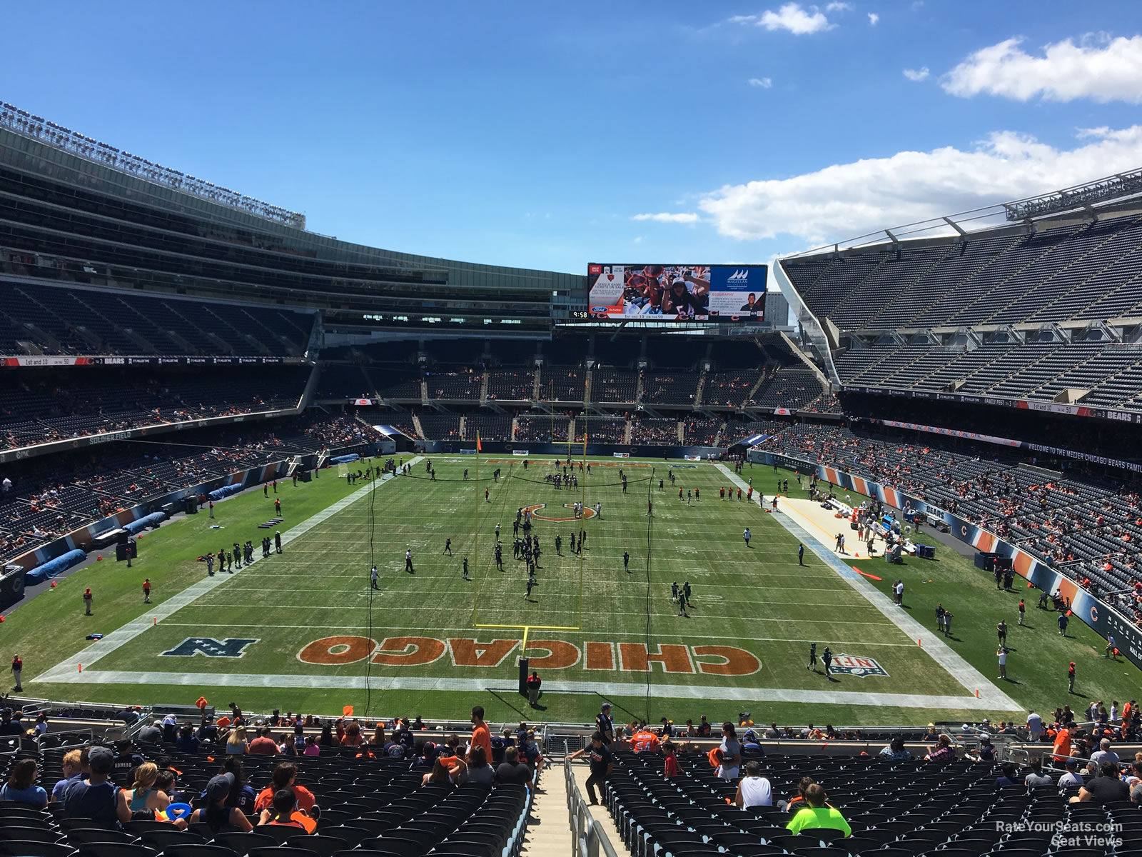 Soldier Field Section 352 Chicago Bears Rateyourseats Com