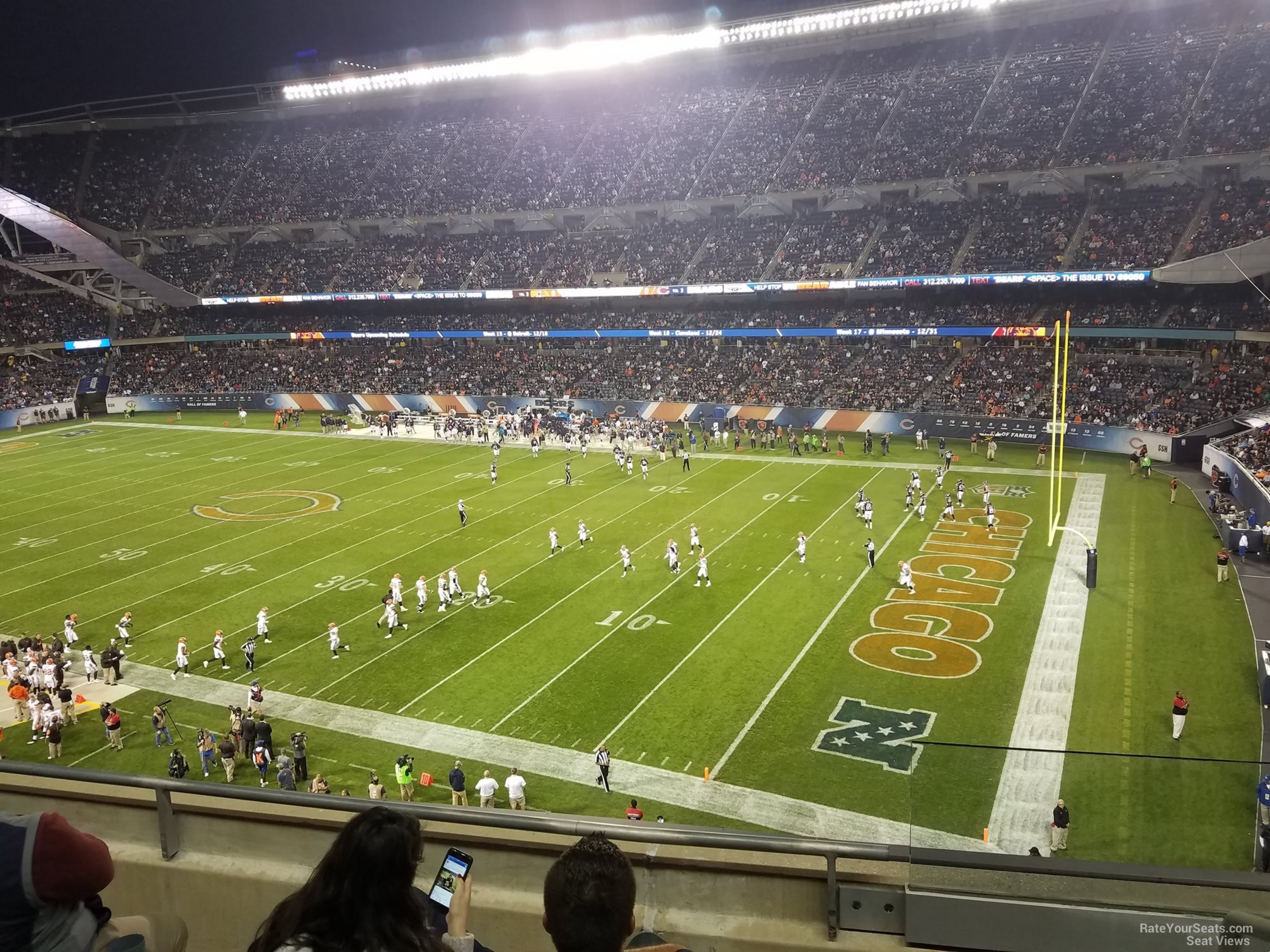 Solr Field Section 304 Chicago Bears Rateyourseats