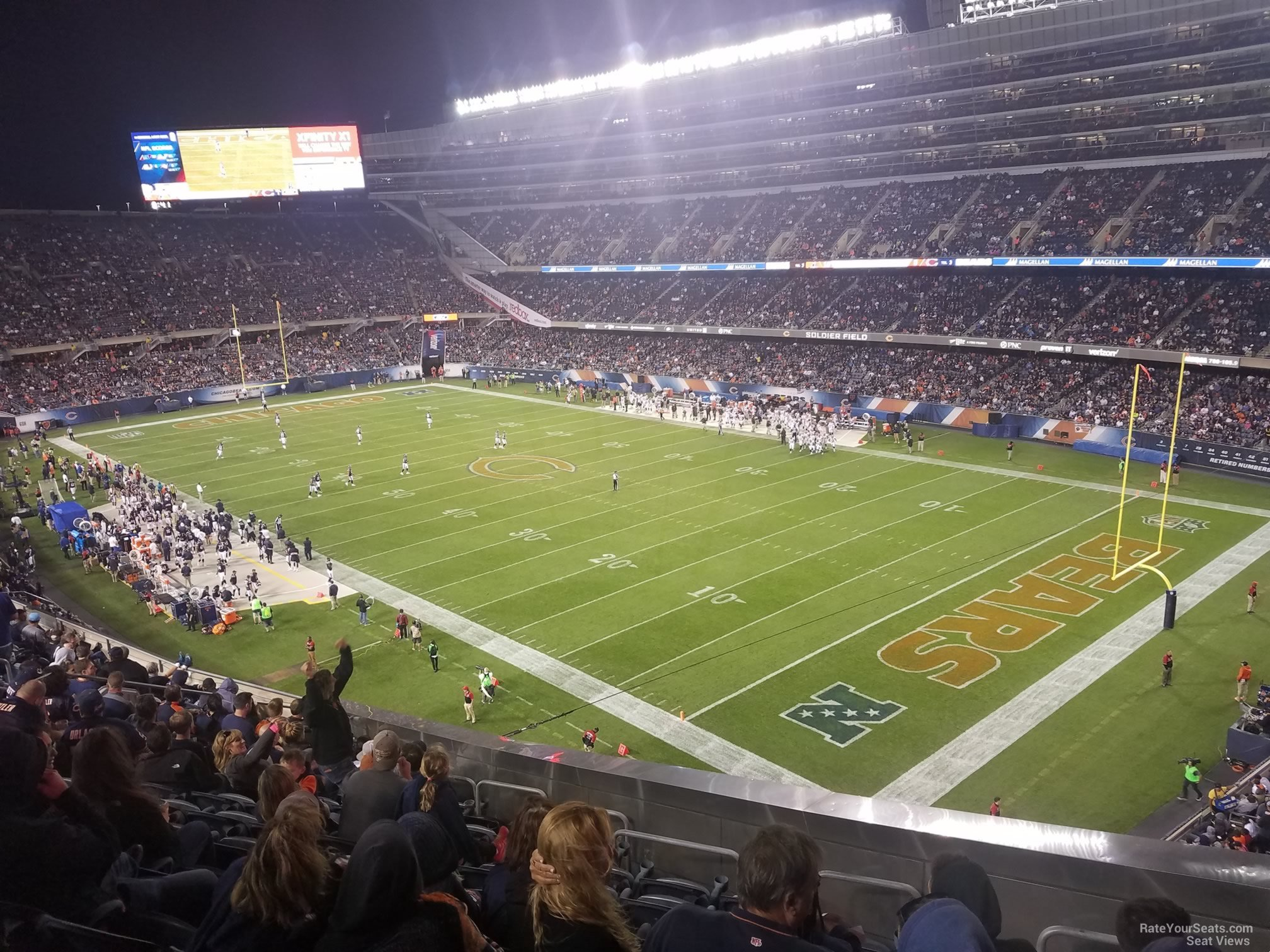 Best Concert Seats At Soldier Field Soldier Field Section
