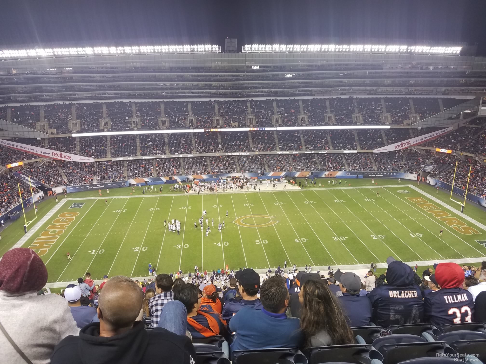 Soldier Field Section 438 Chicago Bears Rateyourseats Com
