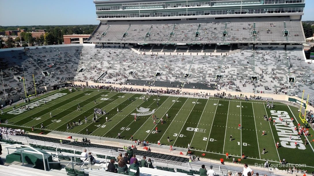 Seat View for Spartan Stadium Section 106, Row 28