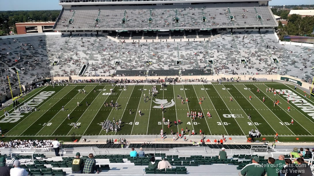Seat View for Spartan Stadium Section 108, Row 28
