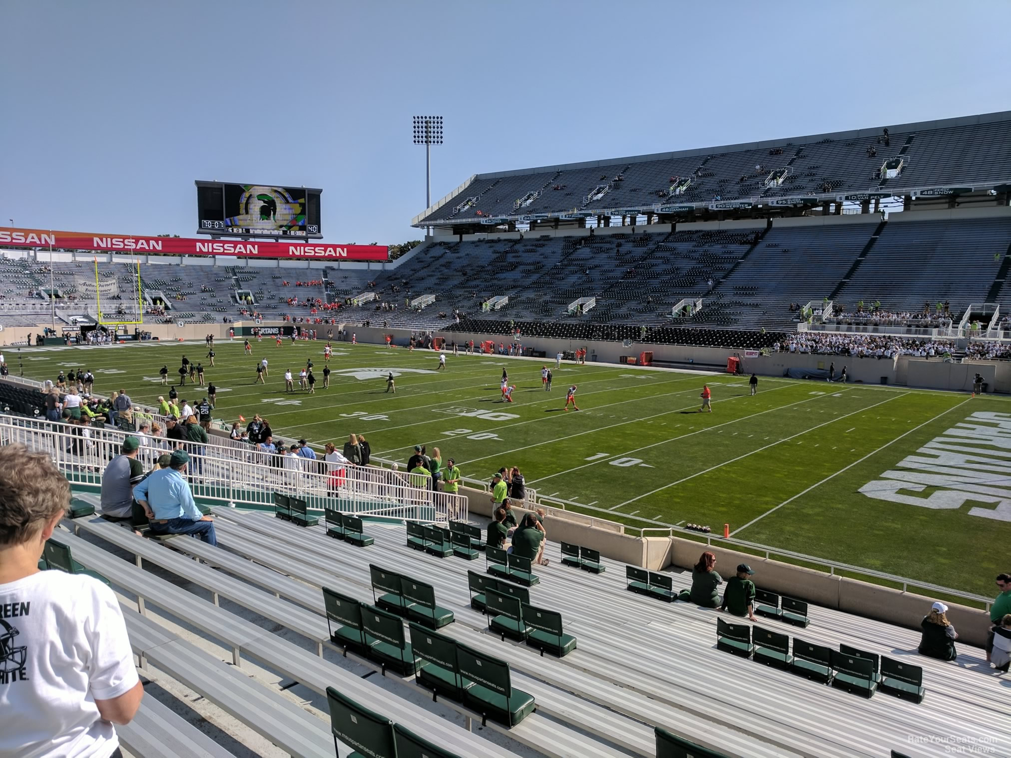 Seat View for Spartan Stadium Section 20, Row 25