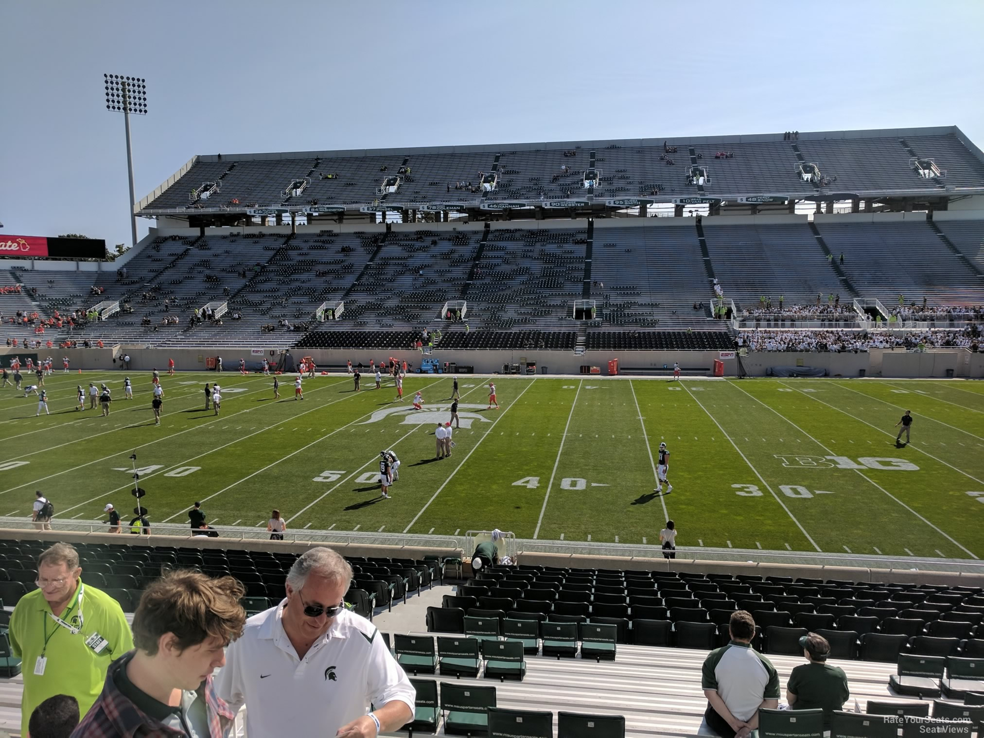 Seat View for Spartan Stadium Section 23, Row 25