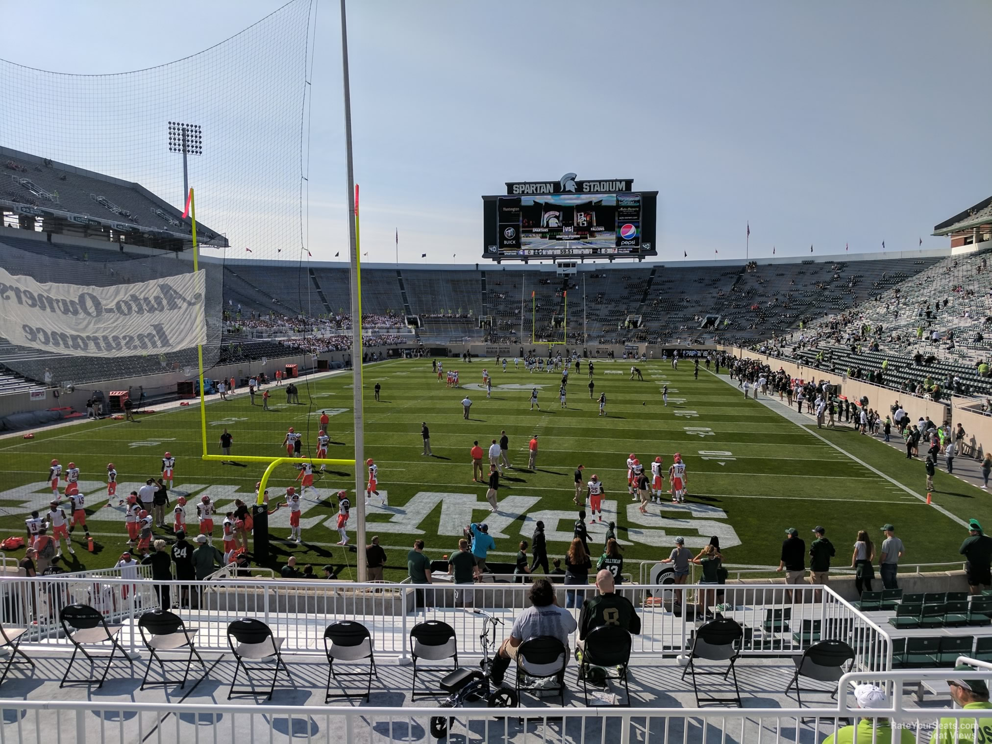 Seat View For Spartan Stadium Section 30