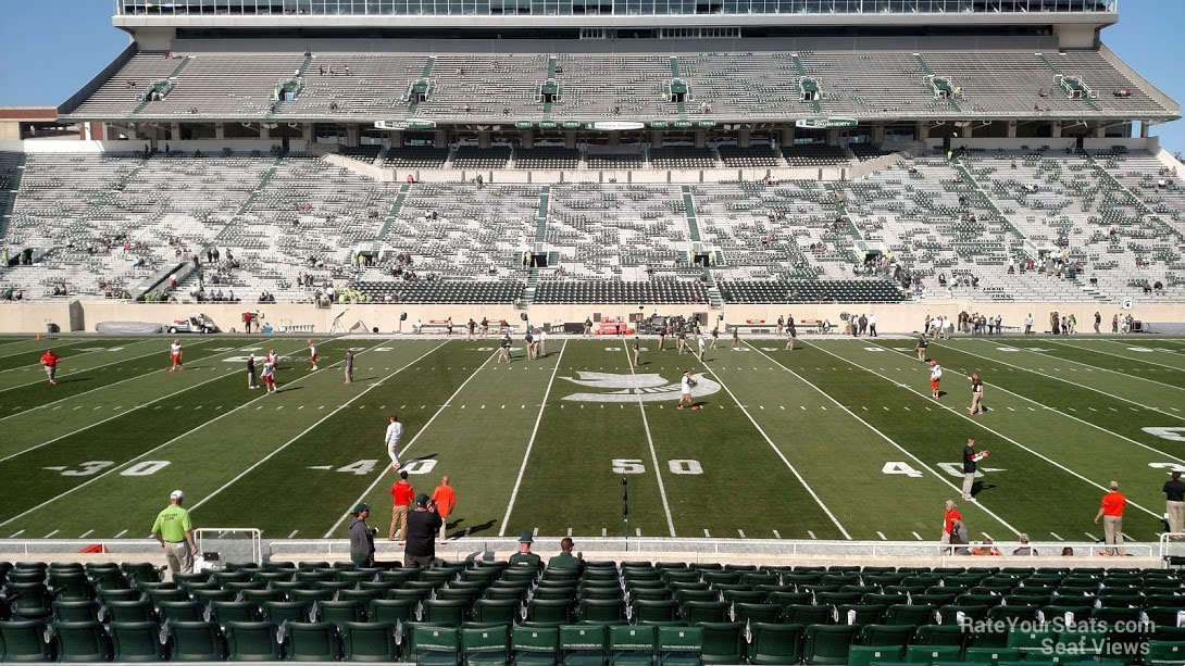Seat View for Spartan Stadium Section 9, Row 25