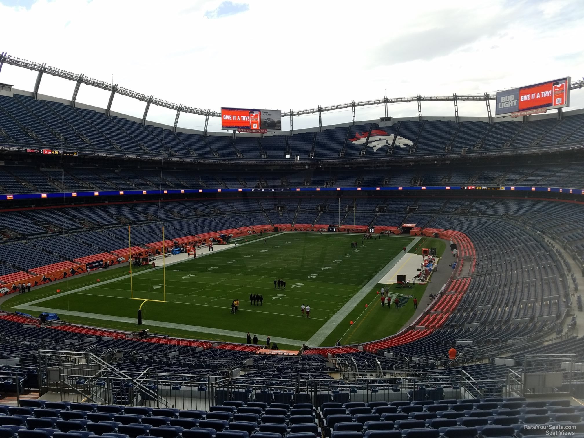 Seat View for Sports Authority Field Section 229