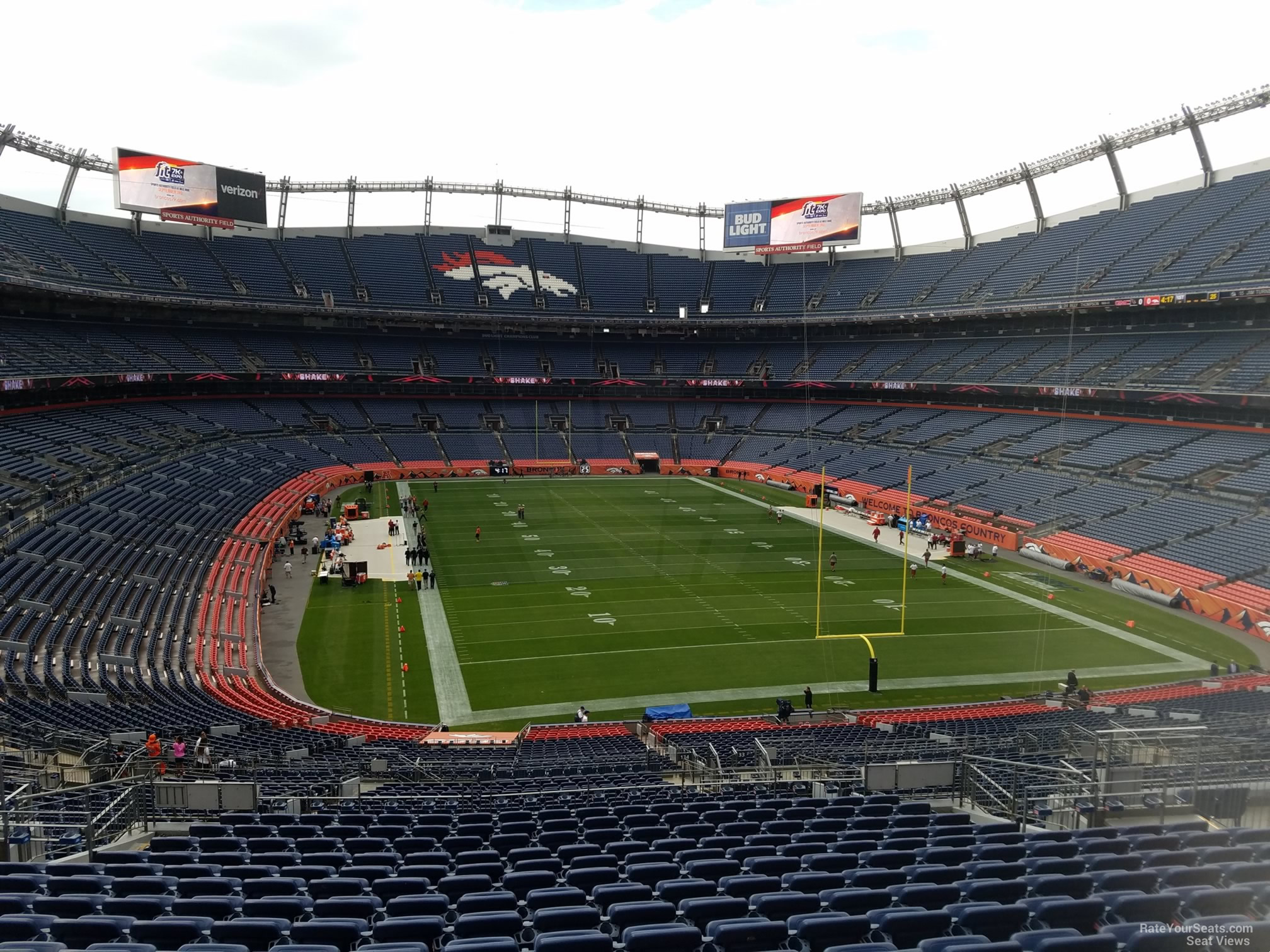 Seat View for Sports Authority Field Section 234