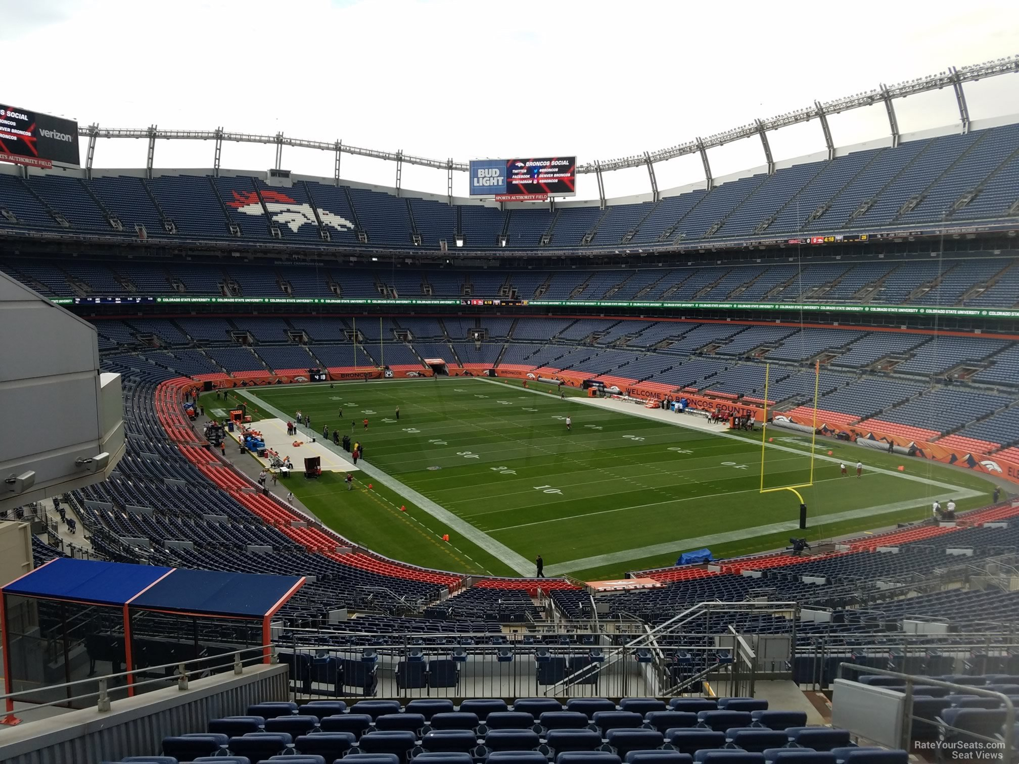 Seat View for Sports Authority Field Section 236