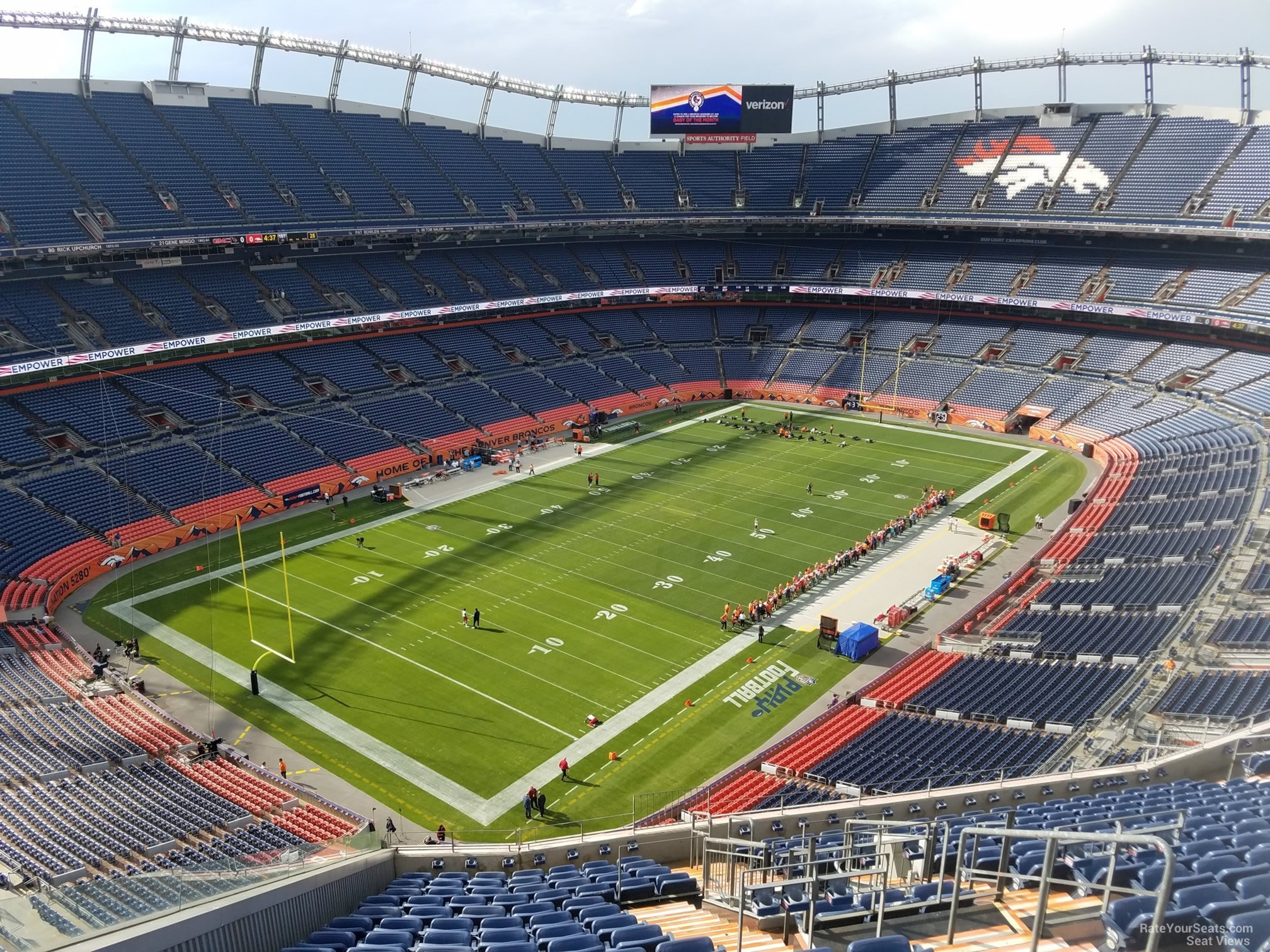 Section 542 seat view