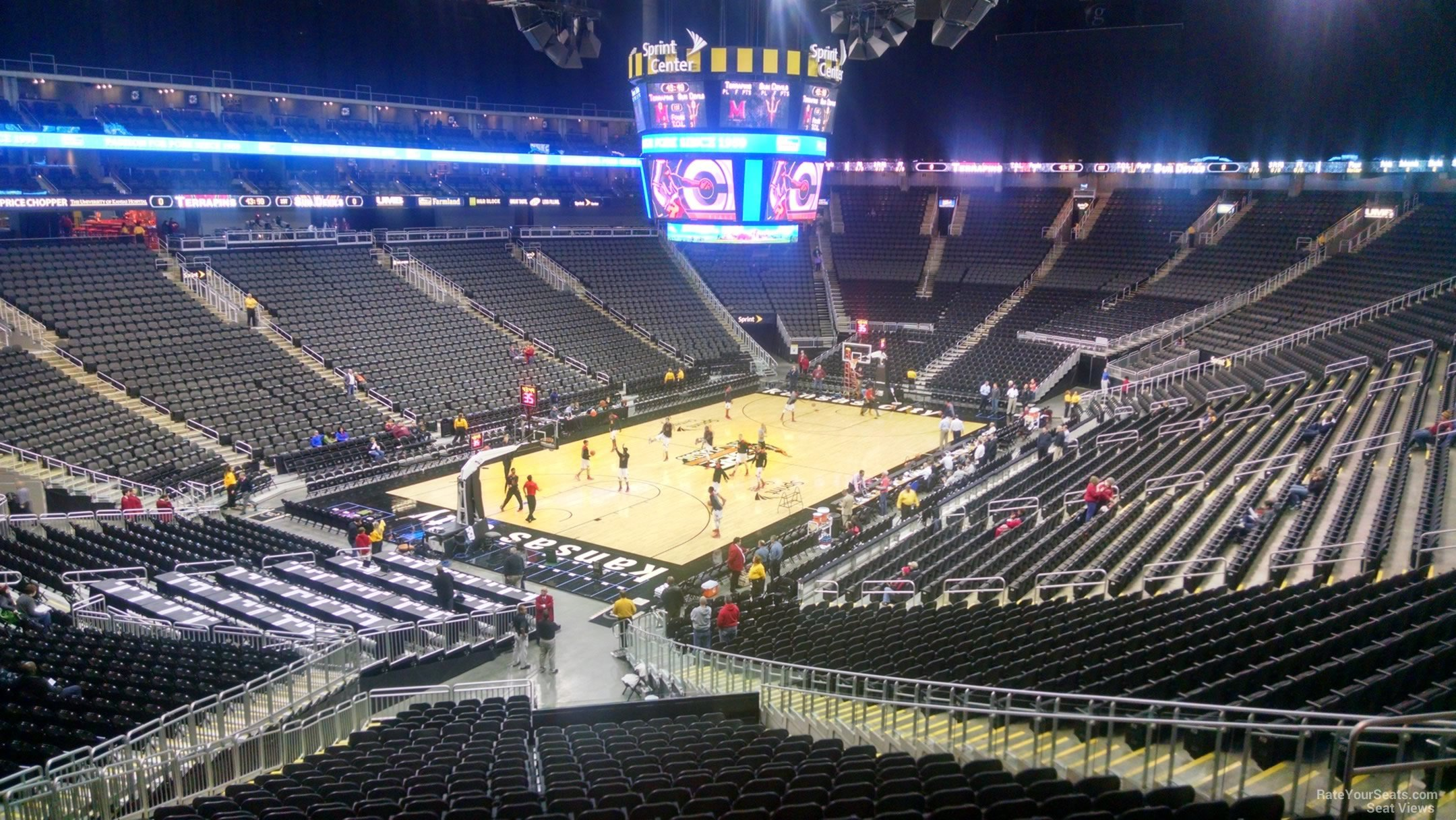 Seat View For Sprint Center Section 109