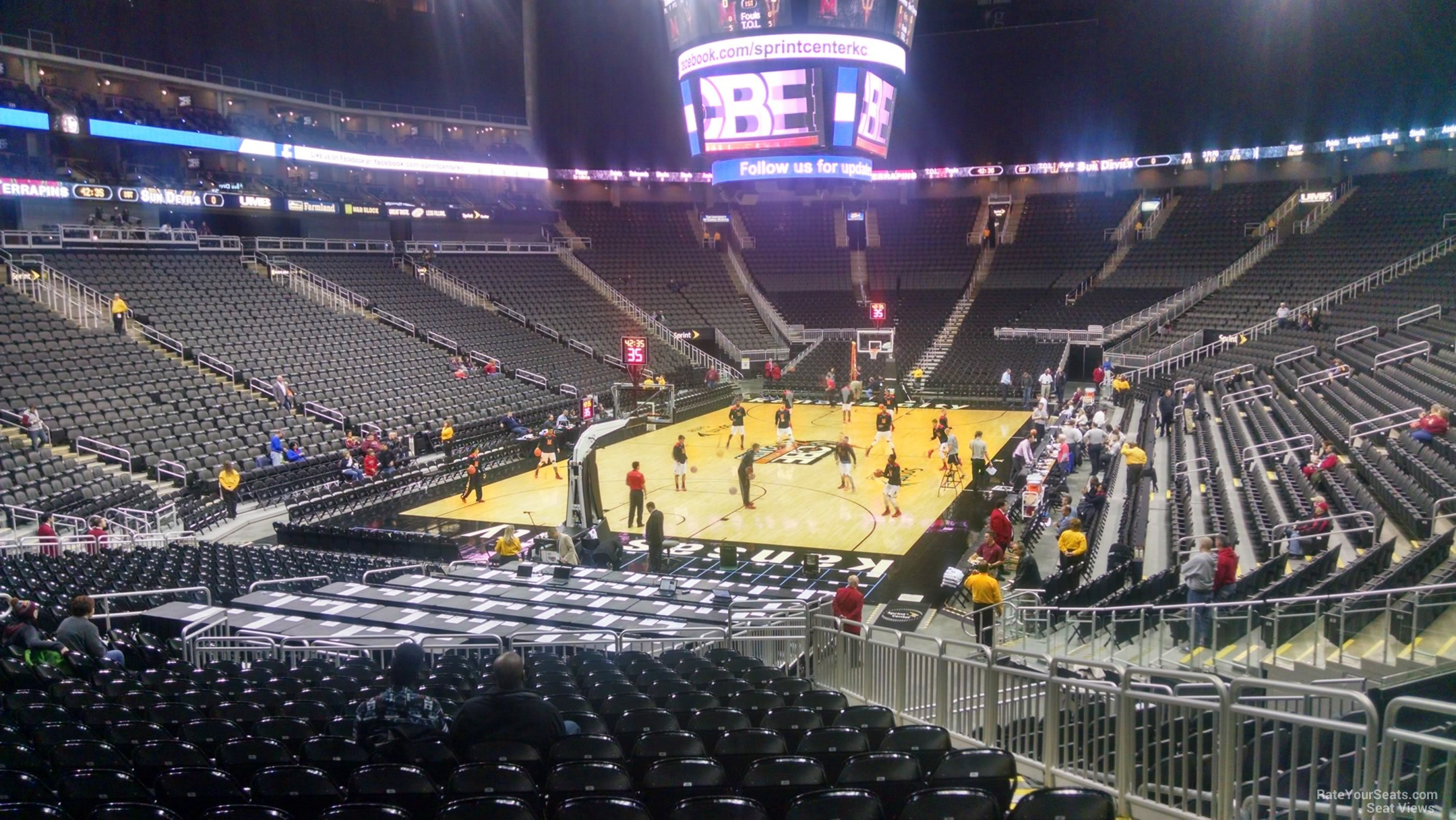Seat View for Sprint Center Section 110