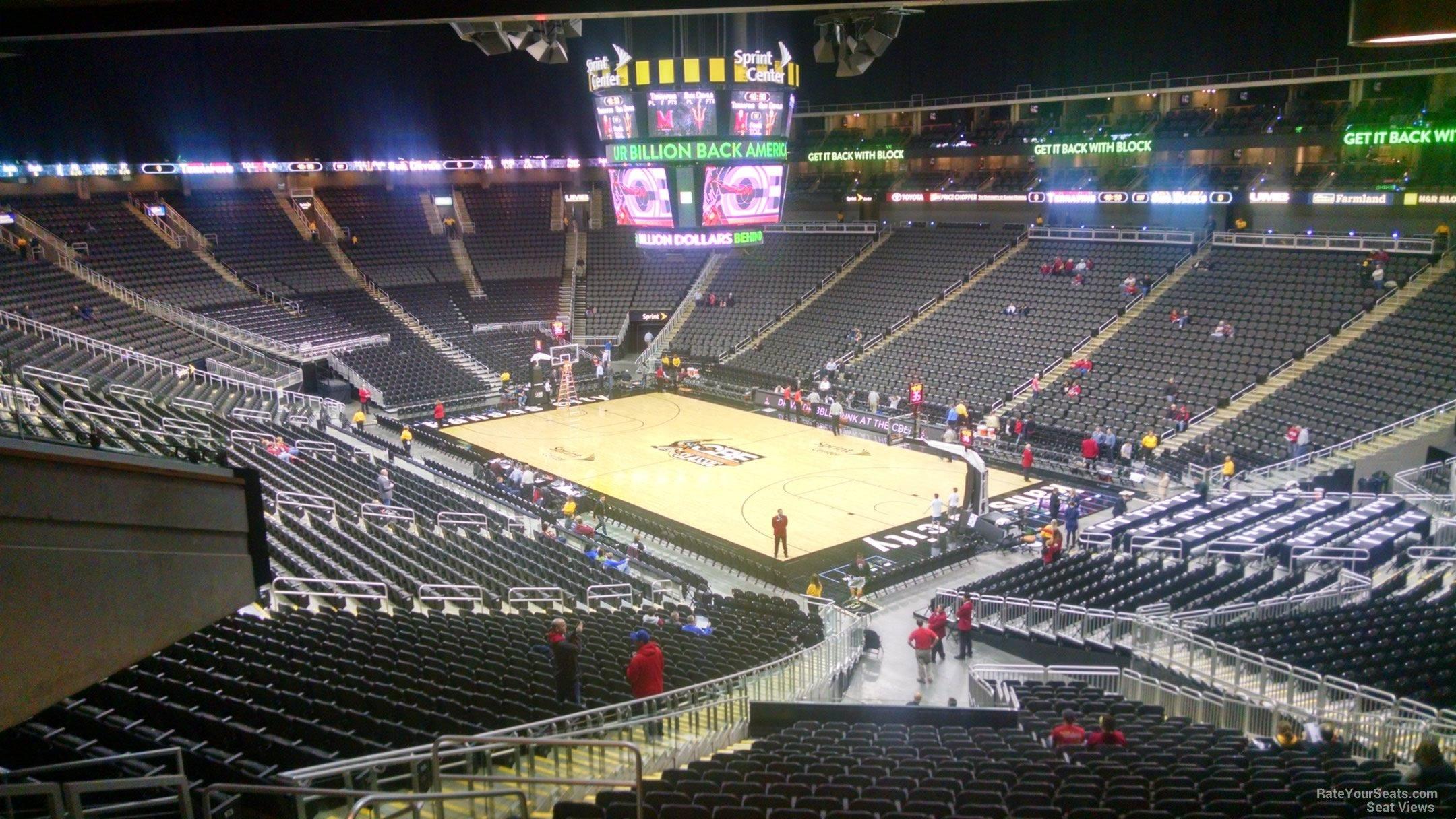 Sprint Center Kansas City Seating View