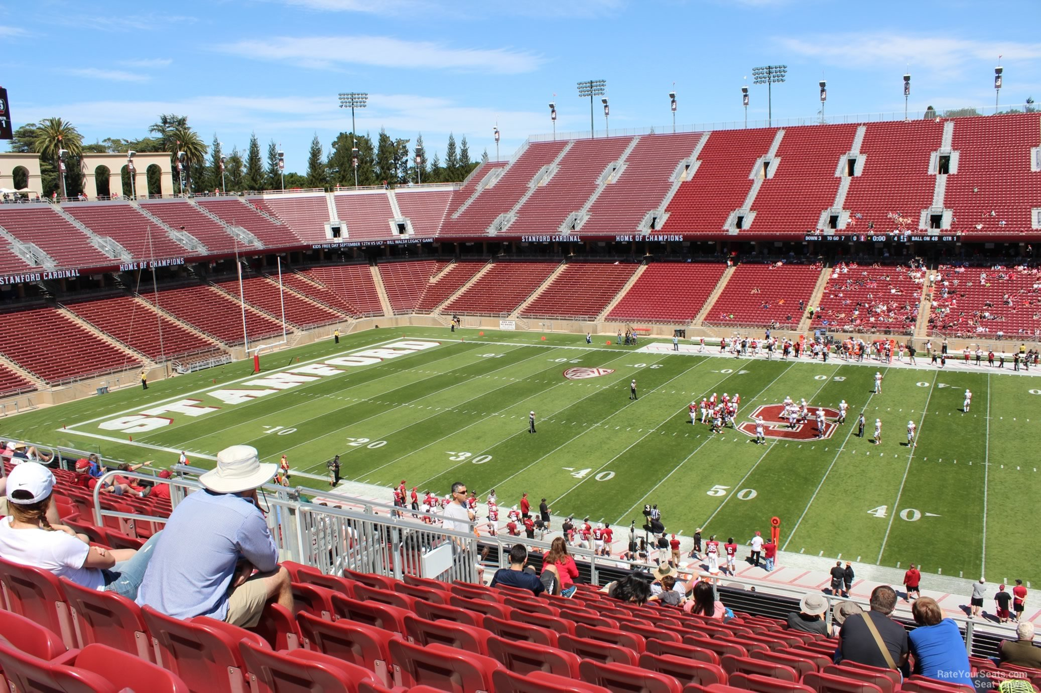 Seat View For Stanford Stadium Section 212 Row J