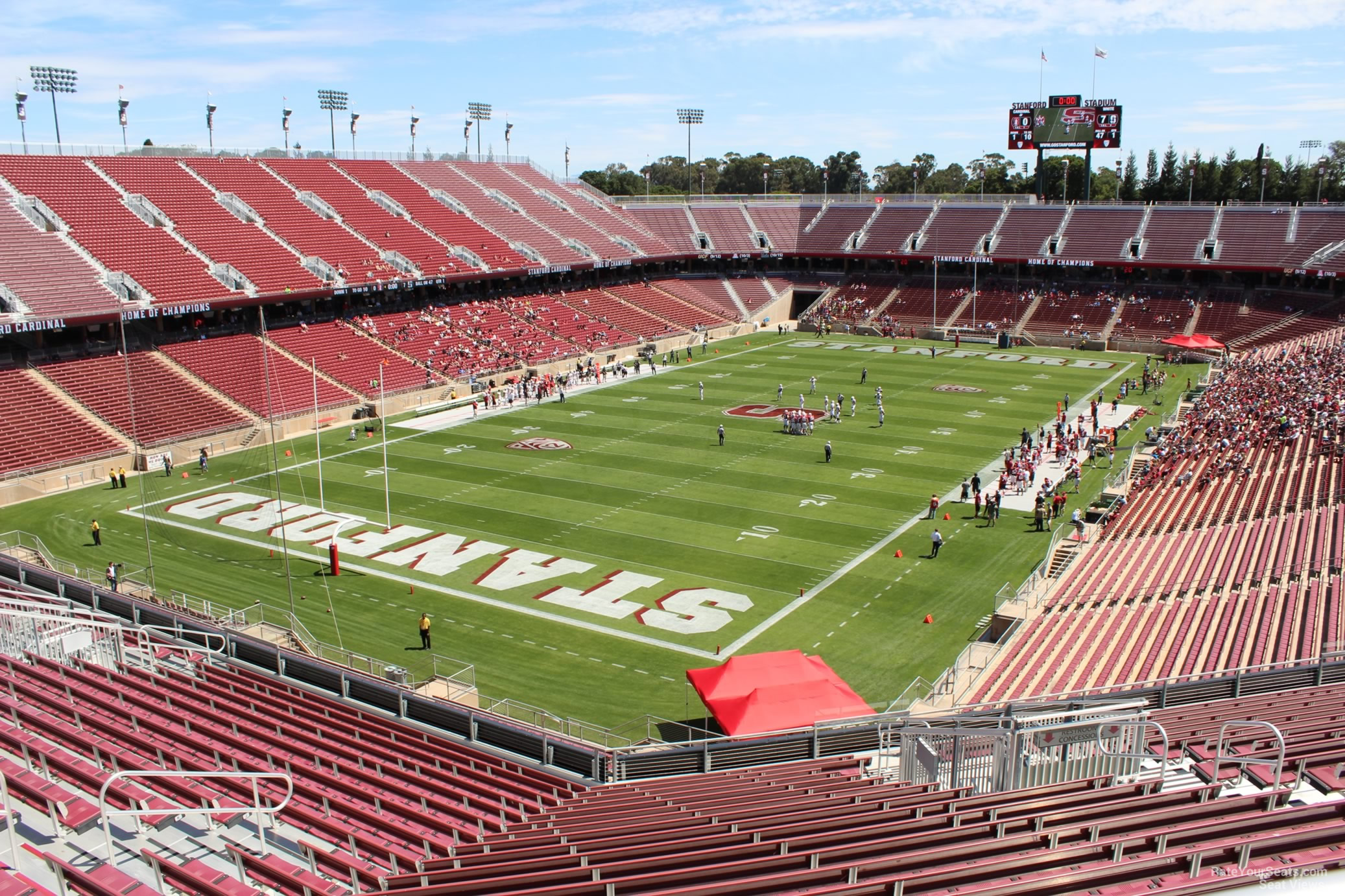 Seat View For Stanford Stadium Section 220 Row J