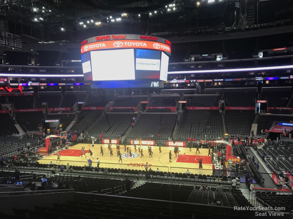 staples center premier 13 - clippers/lakers - rateyourseats