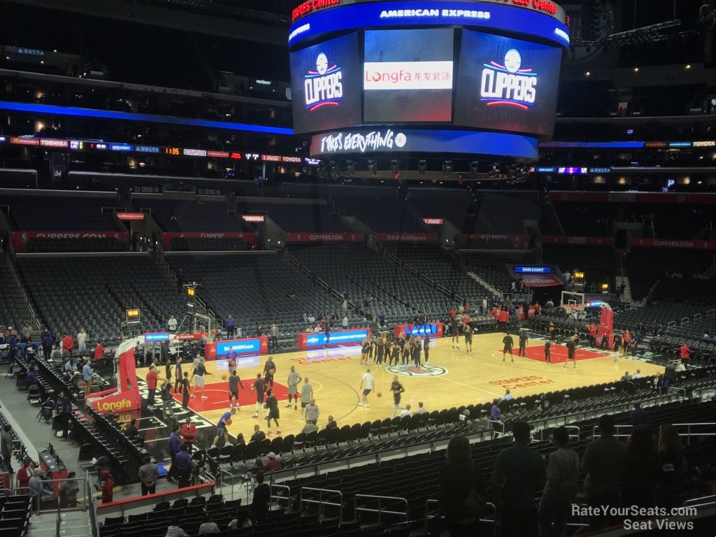 Staples Center Premier 16 Clippers Lakers