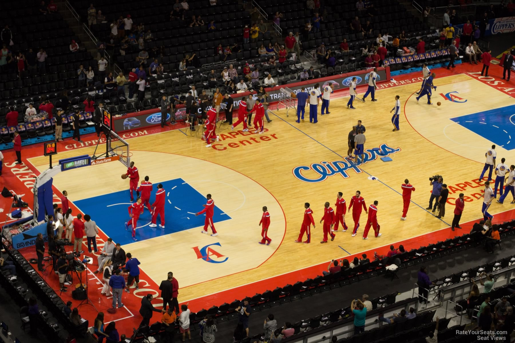 Staples Center Section 321 Clippers Lakers