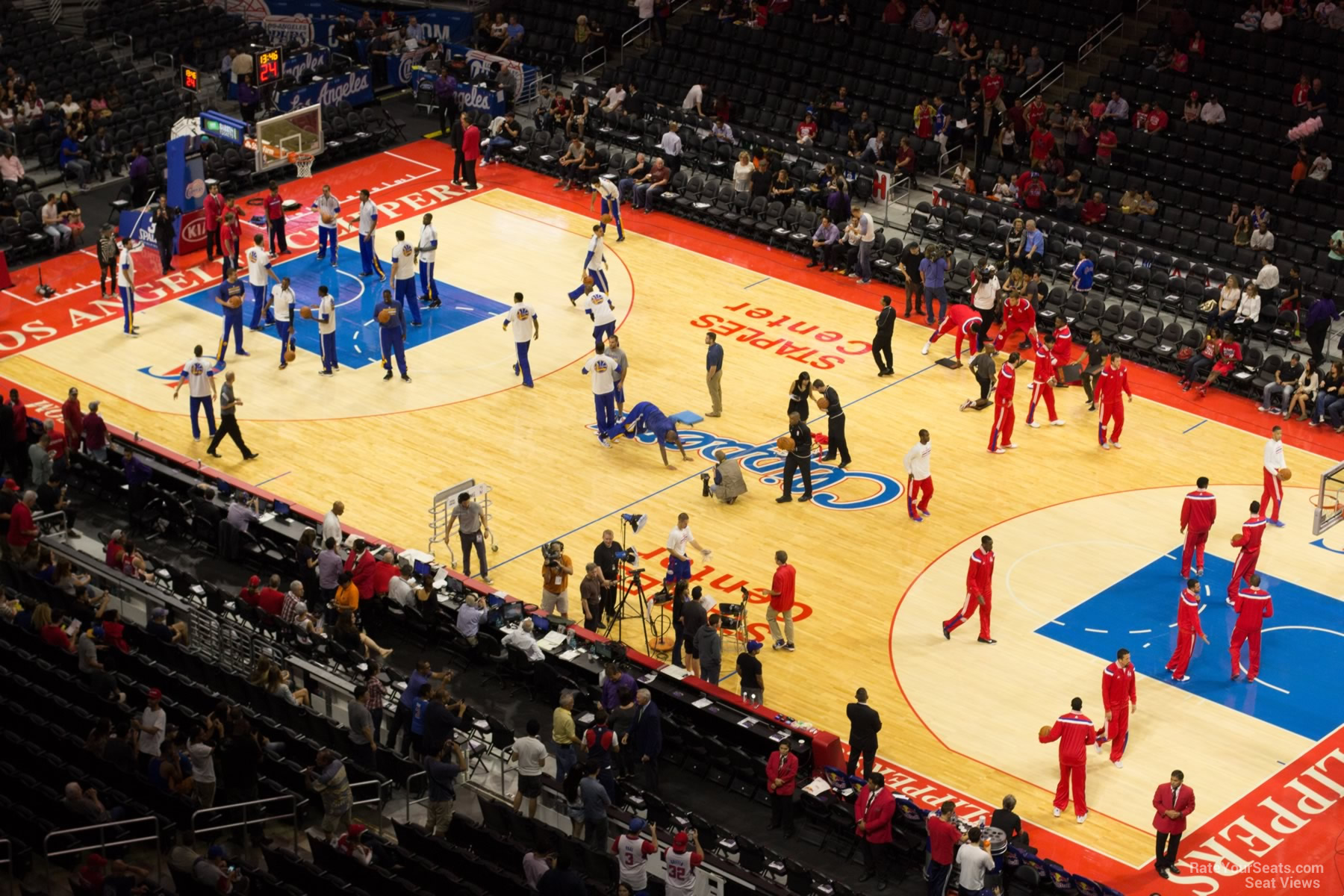 Basketball Seat View for Staples Center Section 332, ...