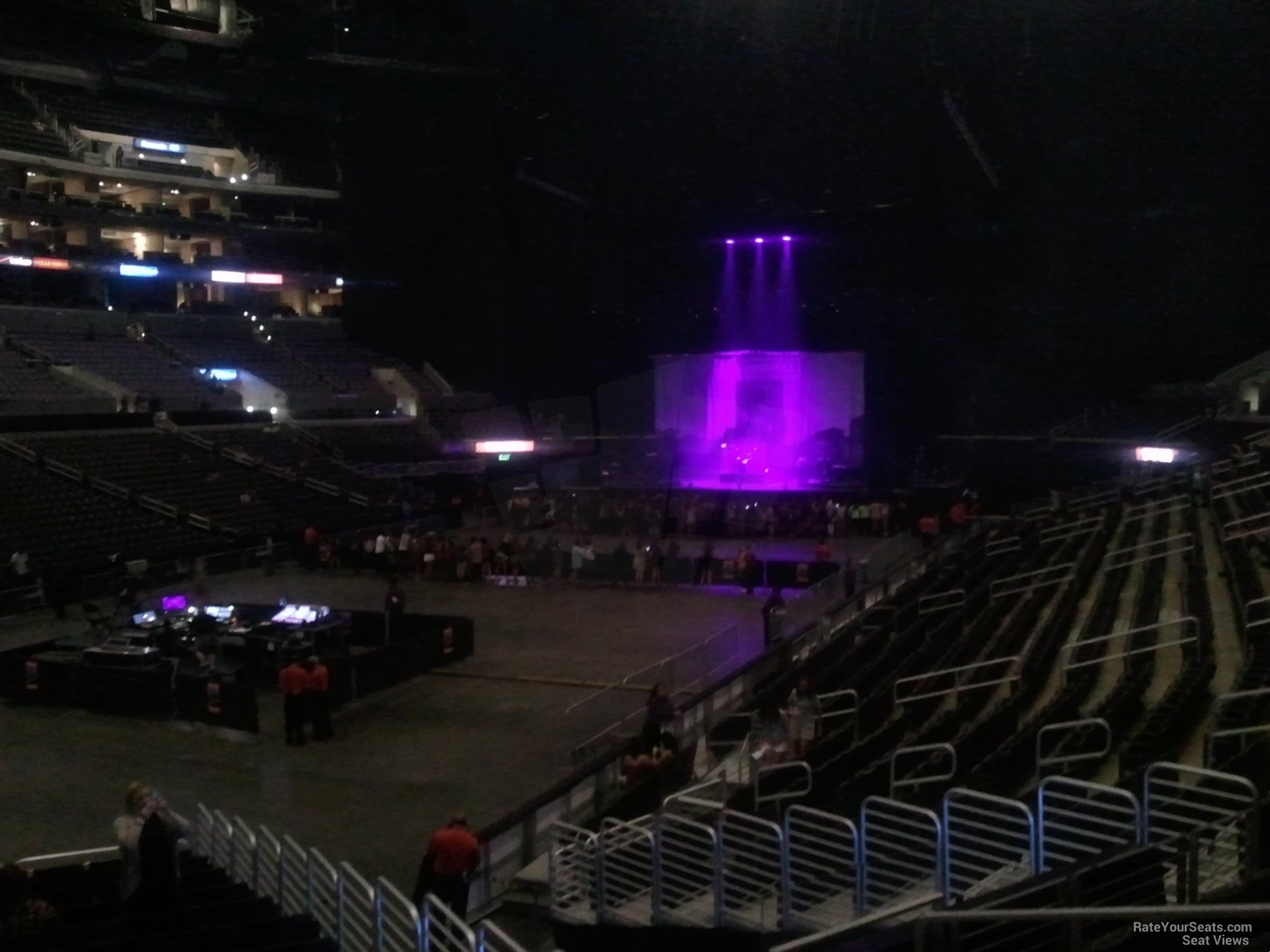 staples center section 105 concert seating - rateyourseats