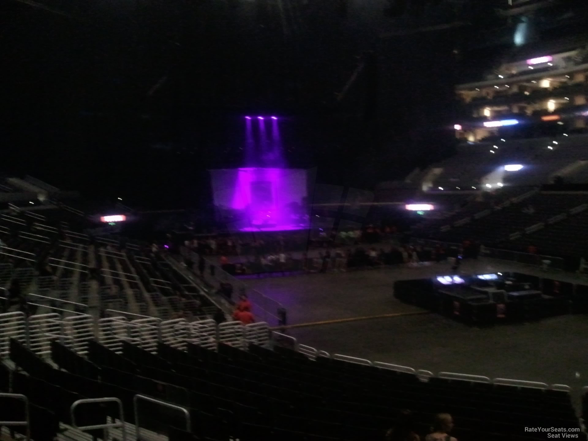 staples center section 108 concert seating - rateyourseats