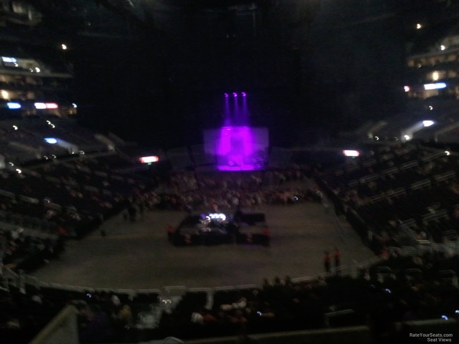 staples center section 207 concert seating - rateyourseats