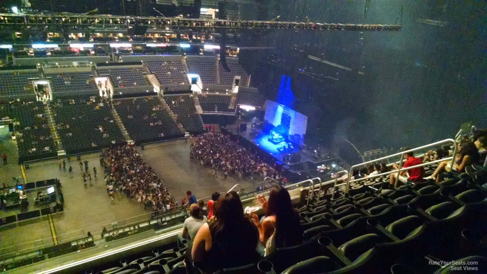 Concert Seat View For Staples Center Section 302