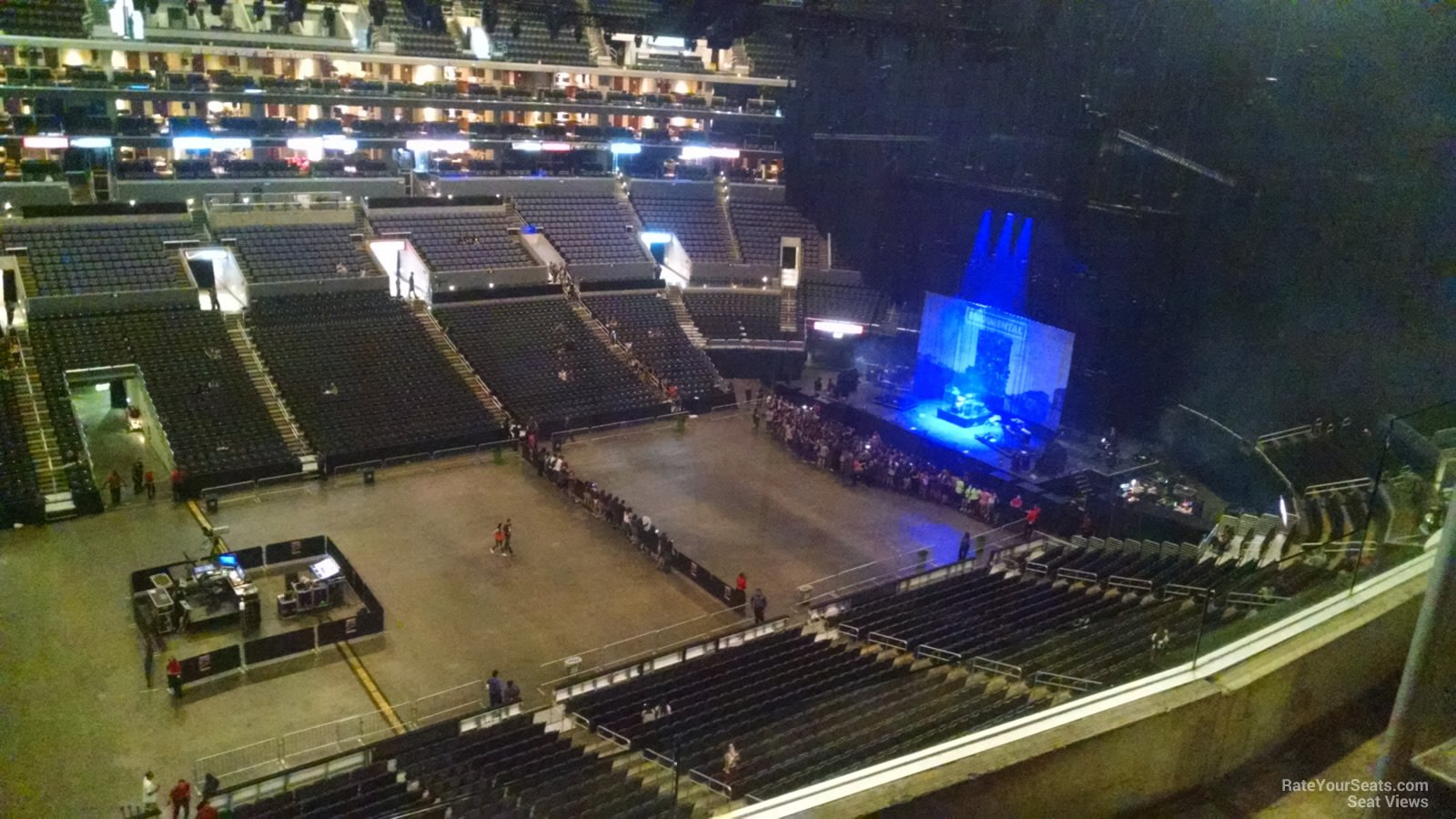 staples center section 303 concert seating - rateyourseats