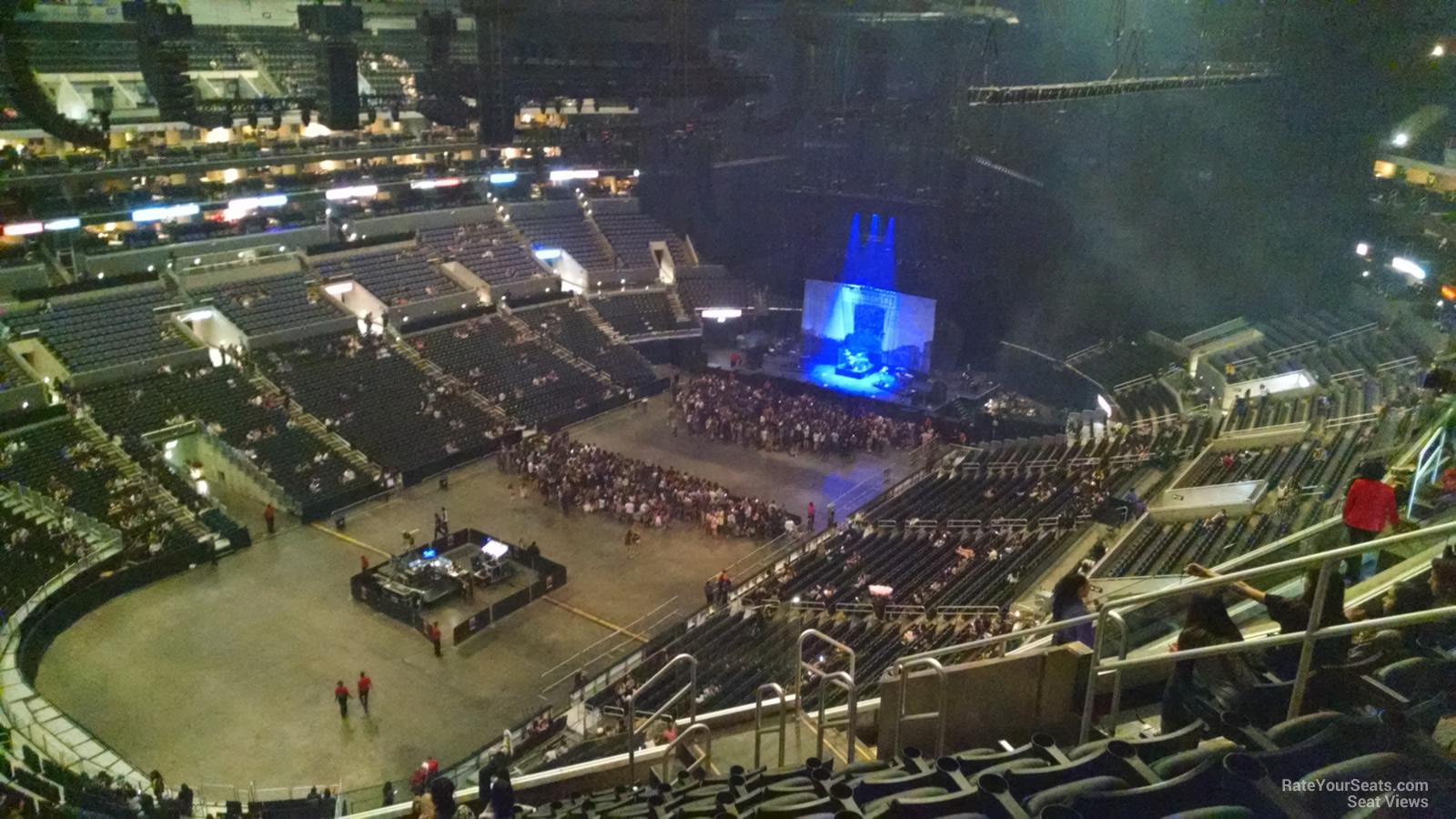 staples center section 305 concert seating - rateyourseats