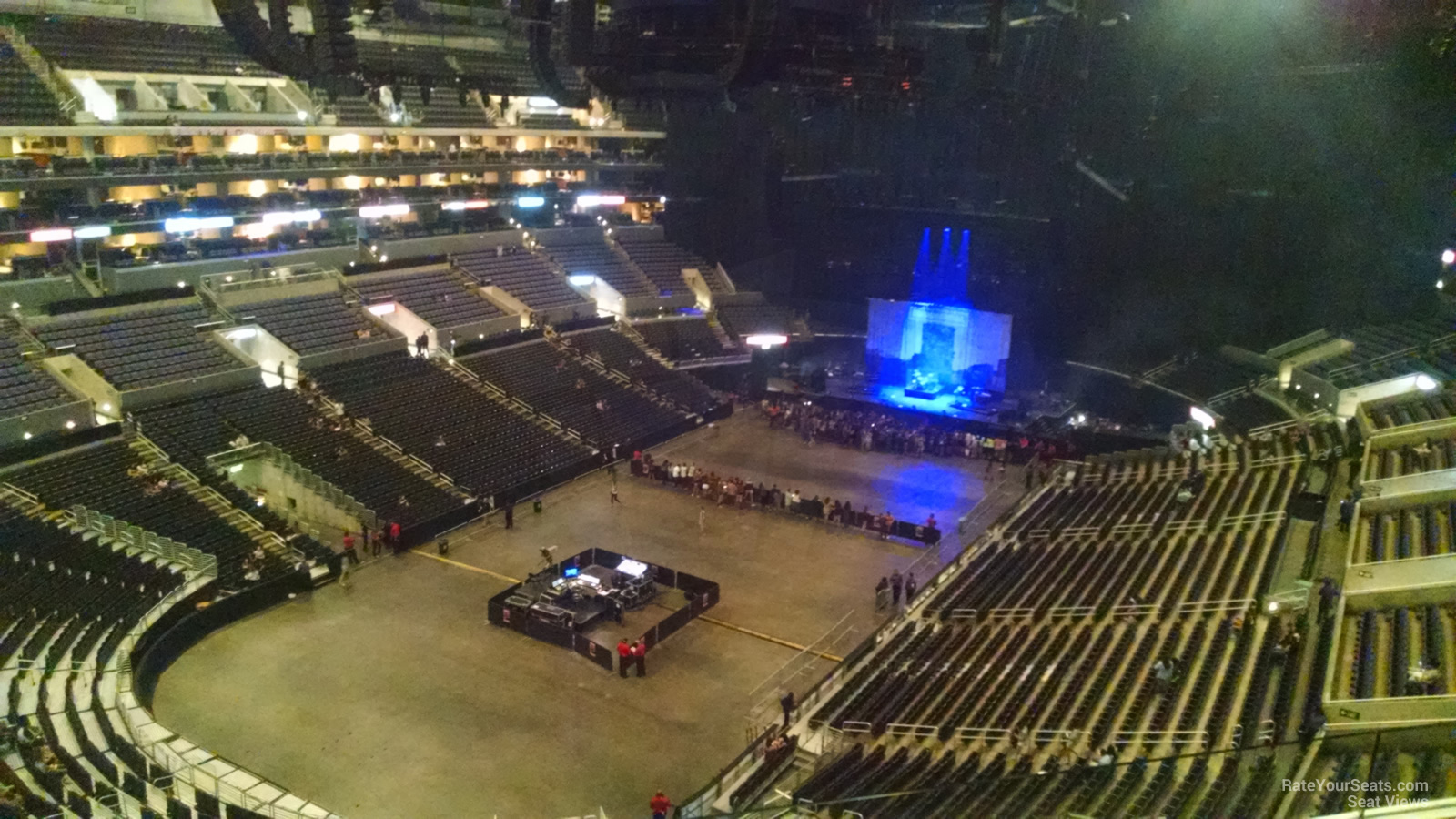 staples center section 306 concert seating - rateyourseats