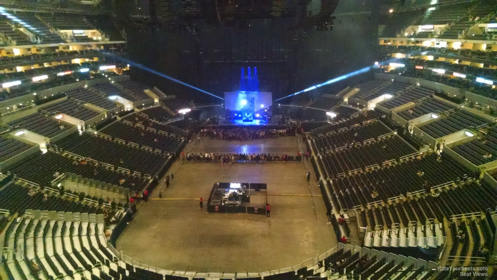 Concert Seat View For Staples Center Section 309