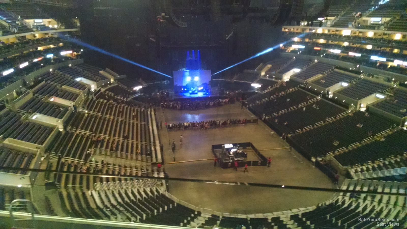 staples center section 311 concert seating - rateyourseats