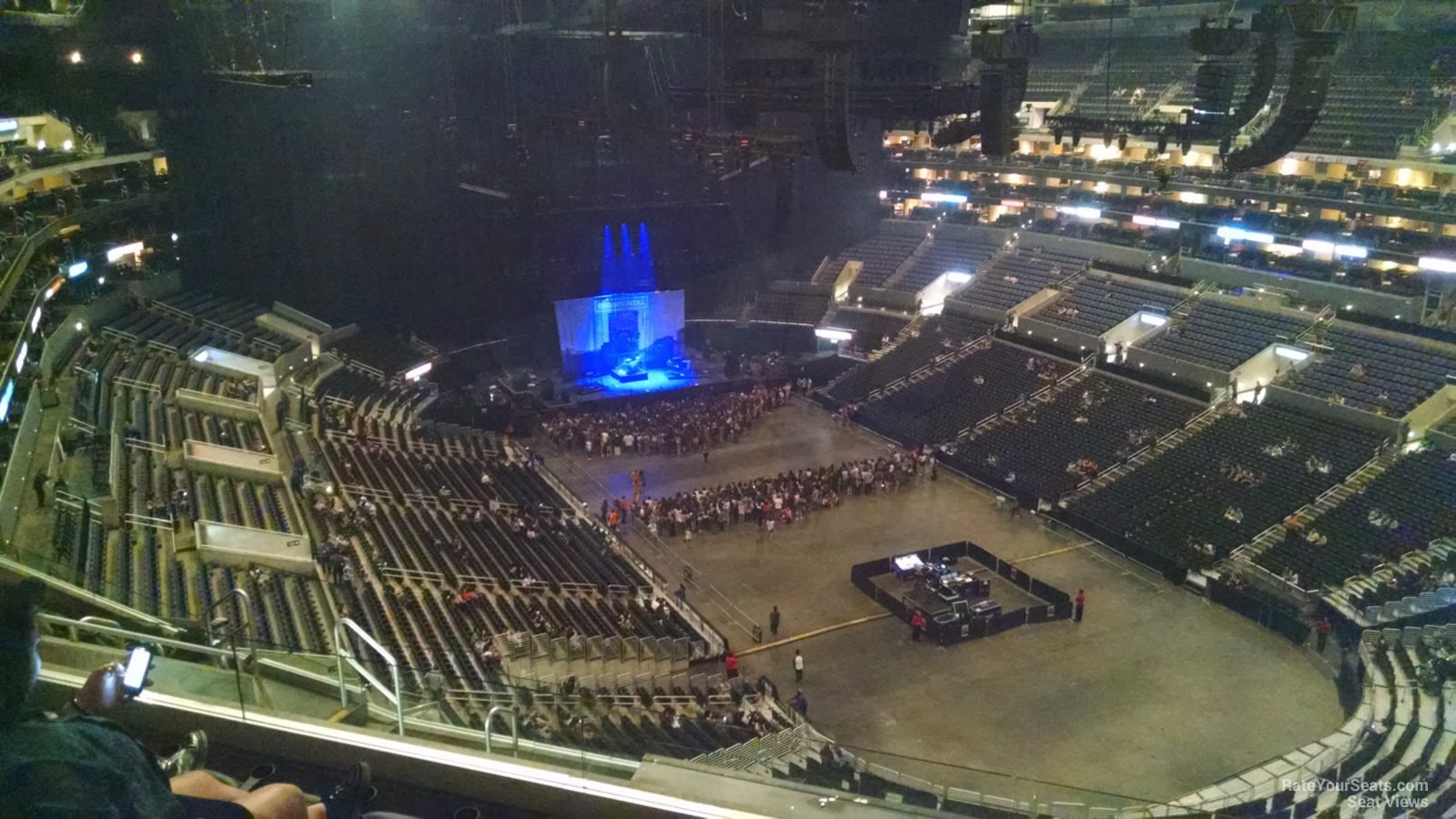 Staples Center Seating Chart Concert View Wallseatco