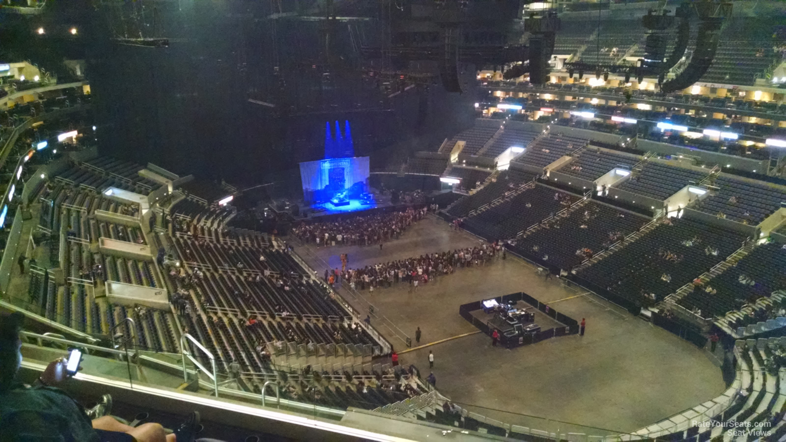 staples center section 313 concert seating - rateyourseats