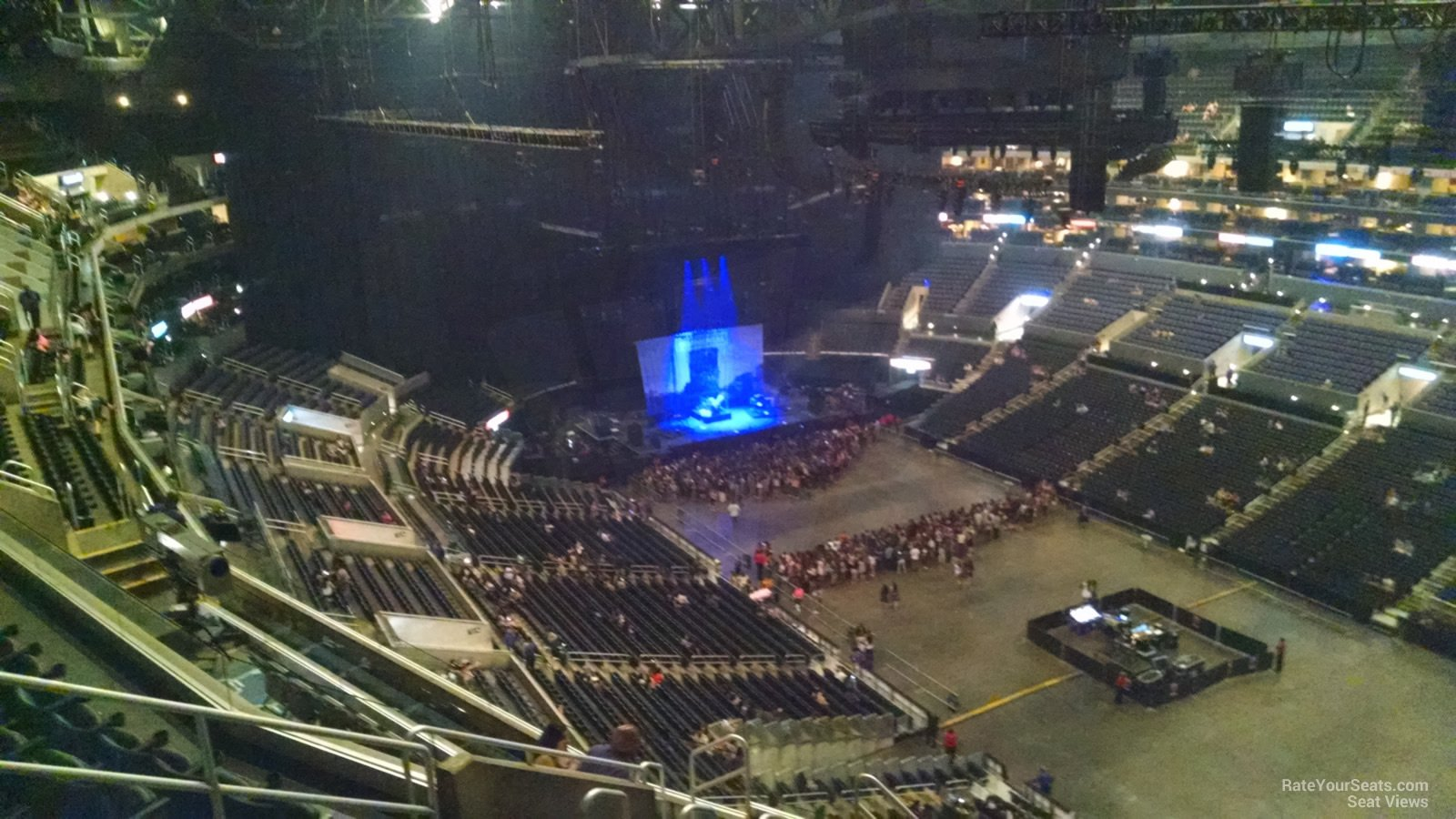 staples center section 314 concert seating - rateyourseats