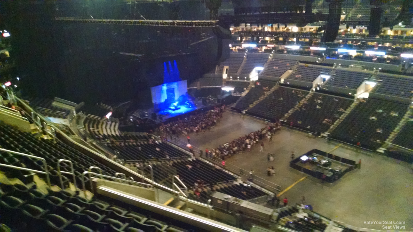 staples center section 315 concert seating - rateyourseats