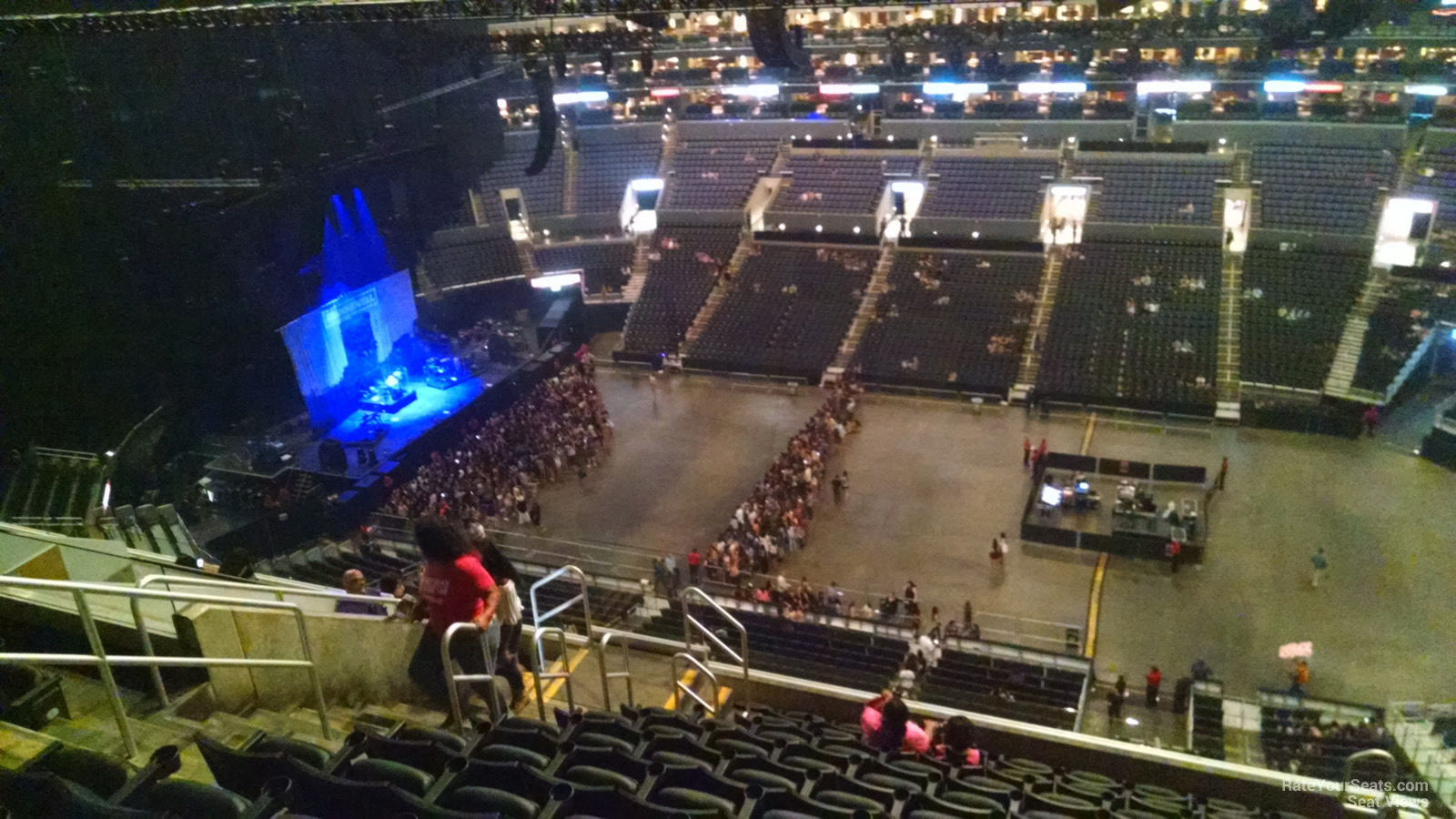staples center section 317 concert seating - rateyourseats