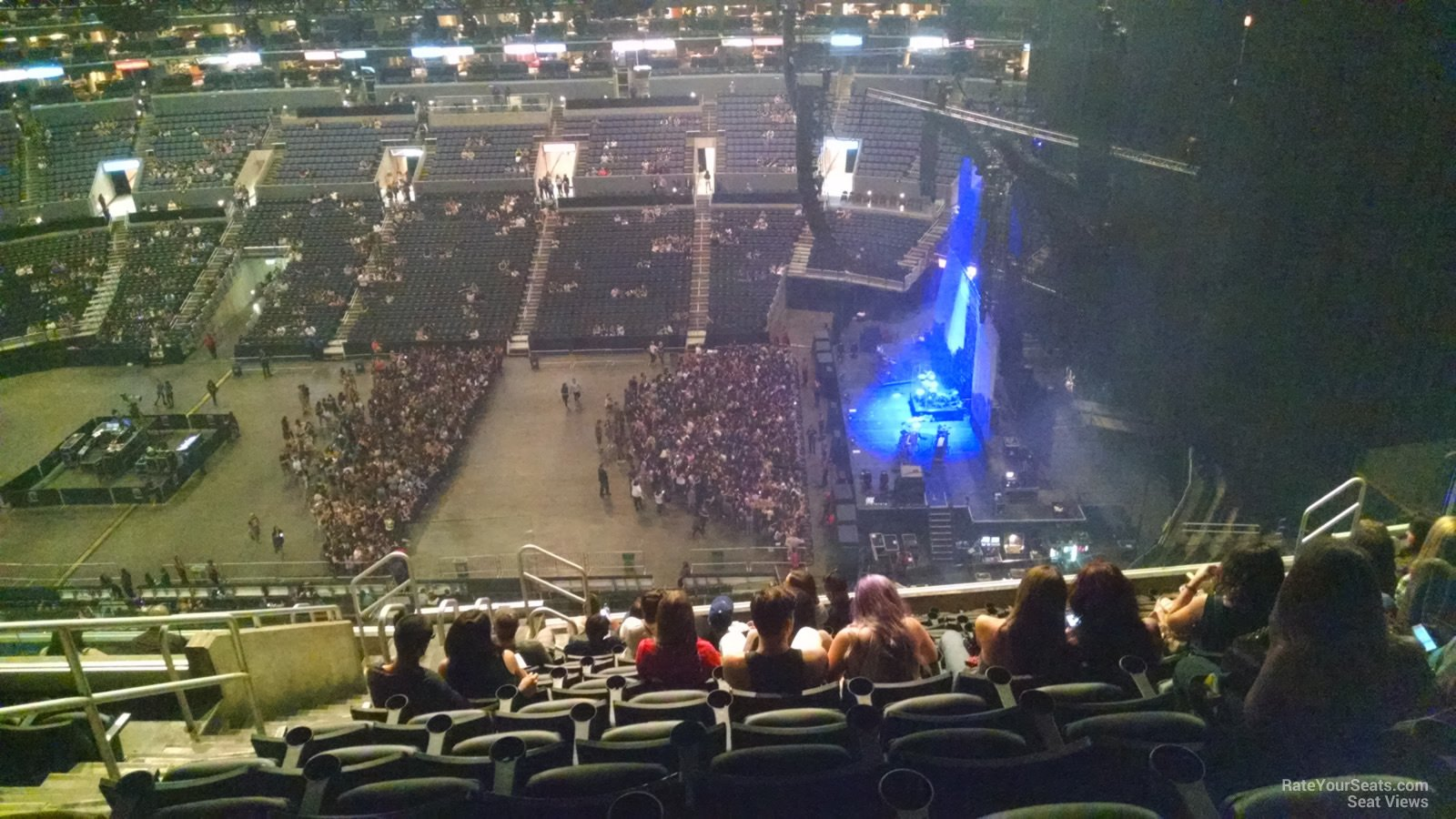 Concert Seat View For Staples Center Section 333